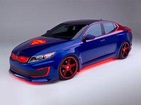 Ver foto 2 de Kia Optima Hybrid Inspired by Superman 2013