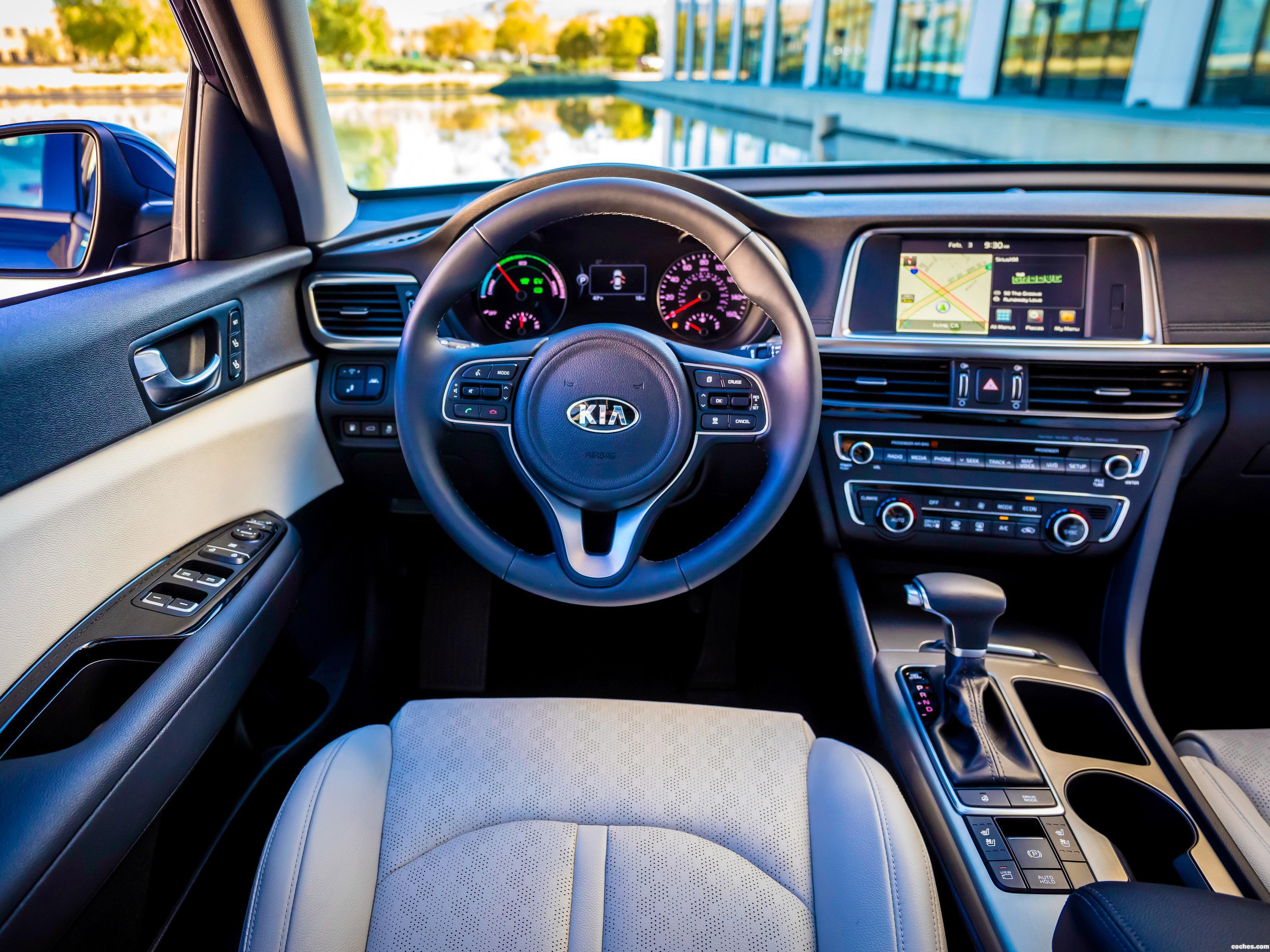 Foto 8 de Kia Optima Hybrid USA 2016