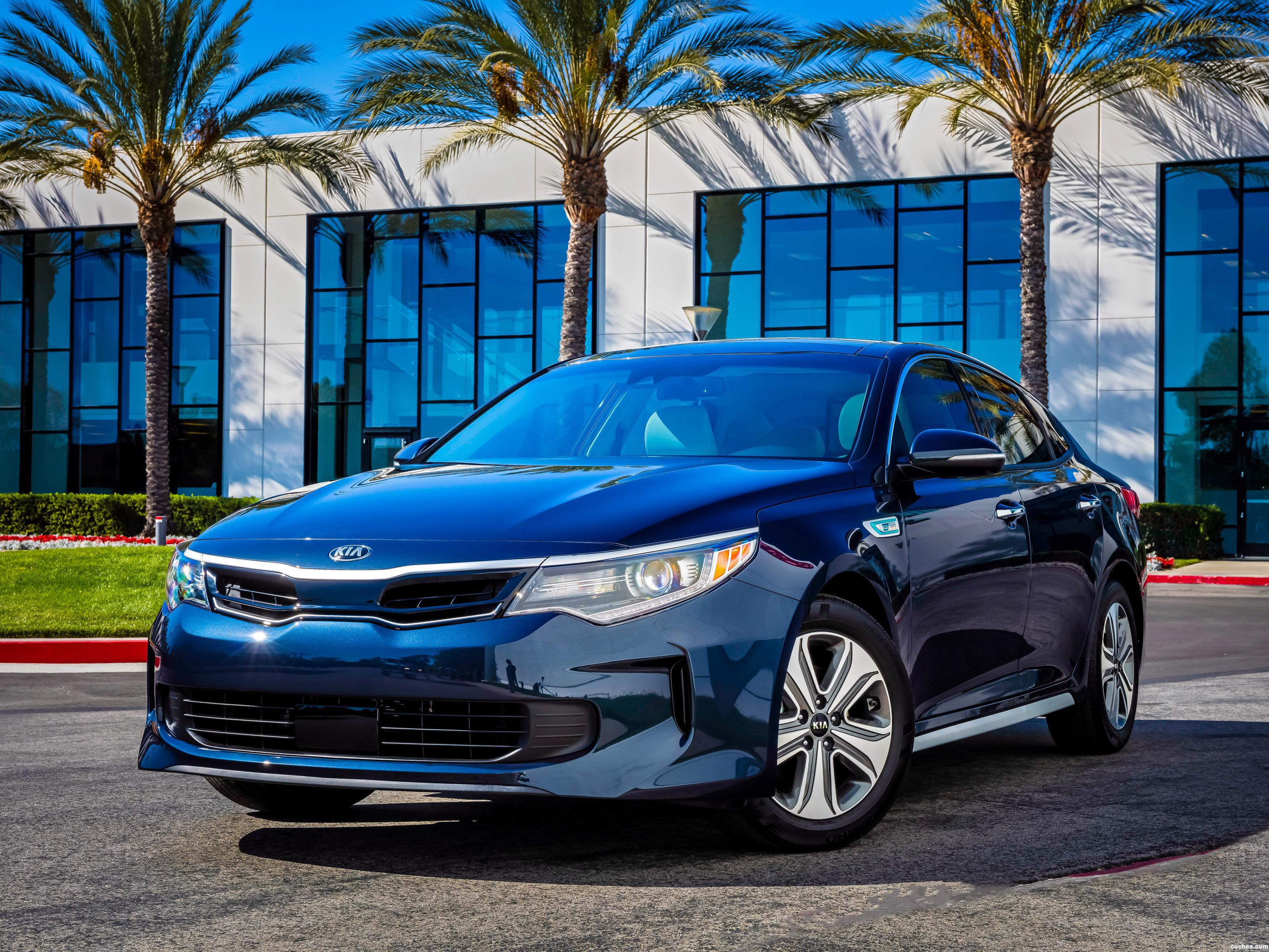 Foto 0 de Kia Optima Hybrid USA 2016