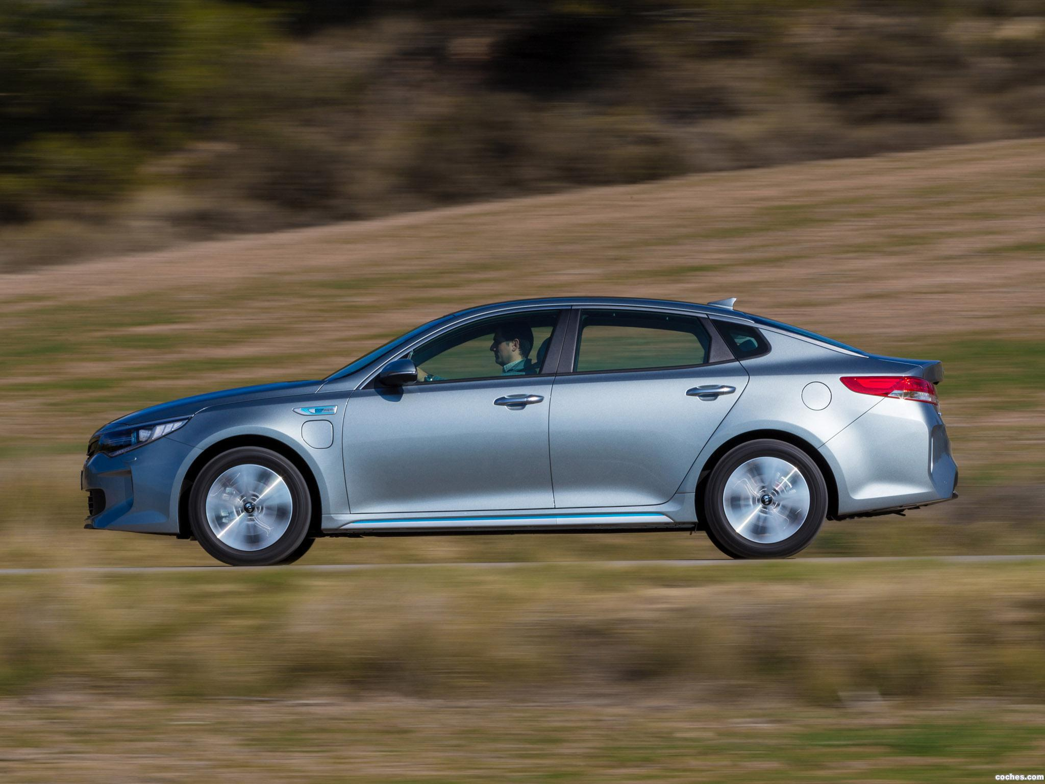 Foto 12 de Kia Optima Plug In Hybrid 2016