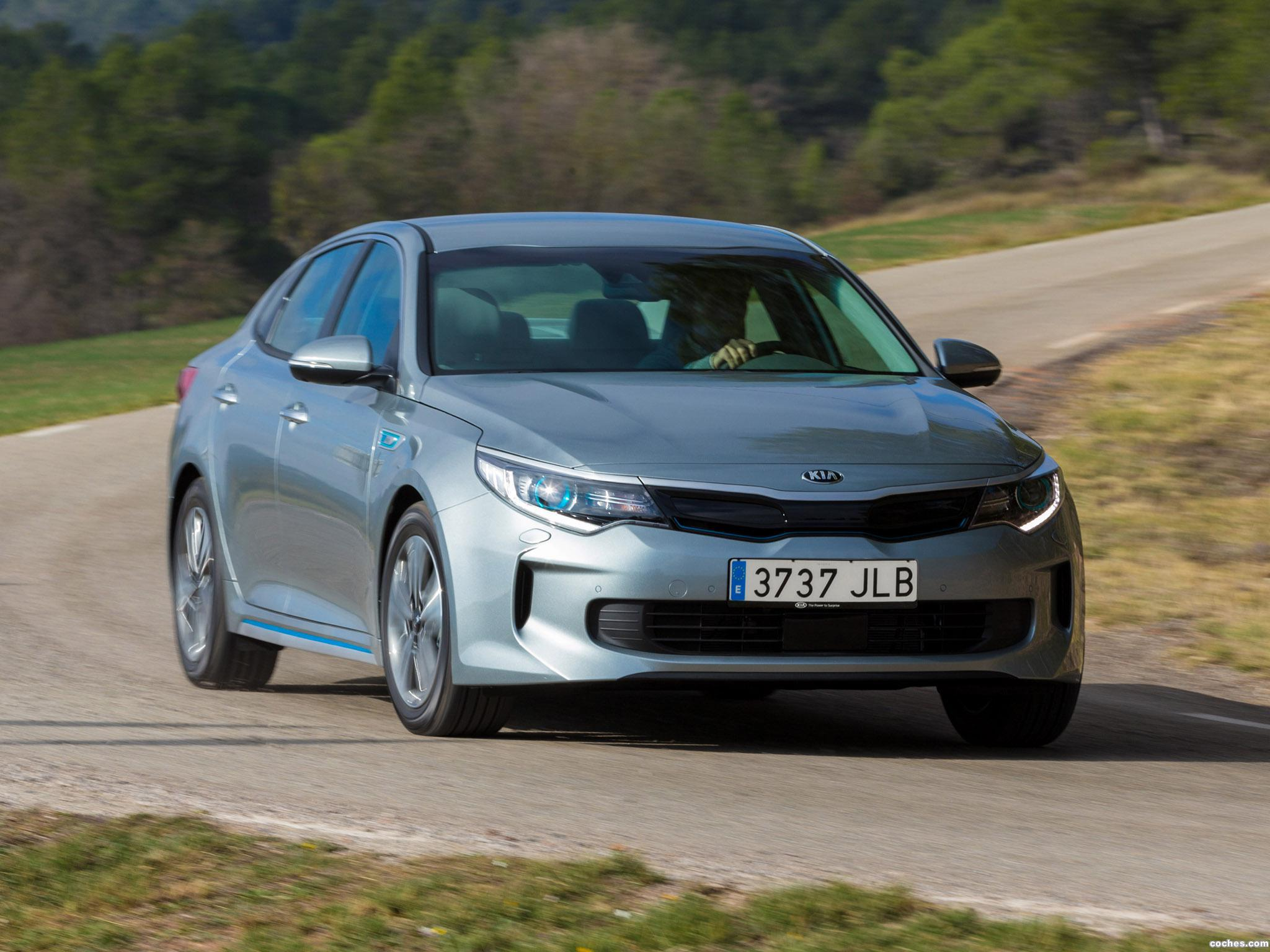 Foto 7 de Kia Optima Plug In Hybrid 2016