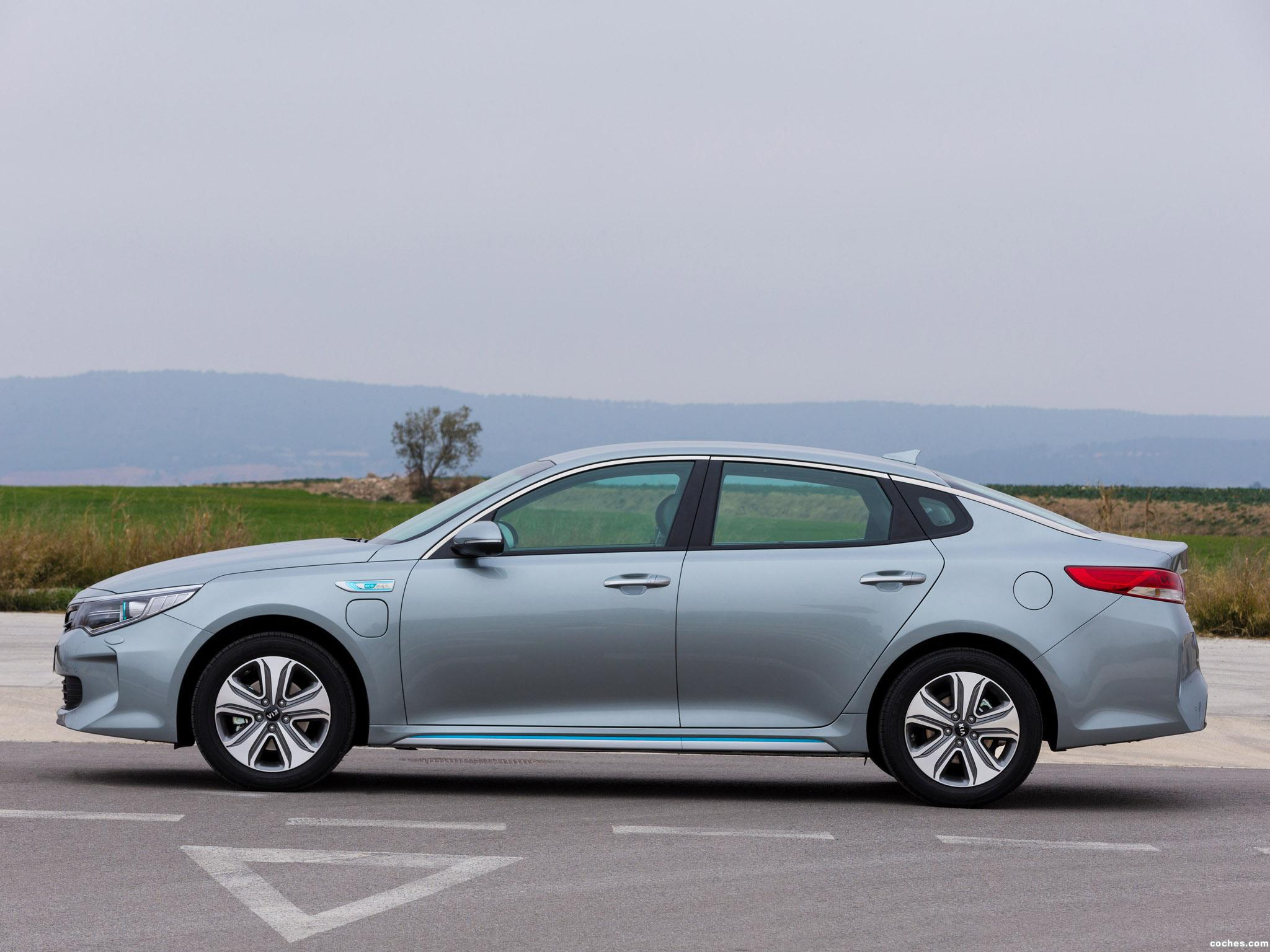 Foto 15 de Kia Optima Plug In Hybrid 2016