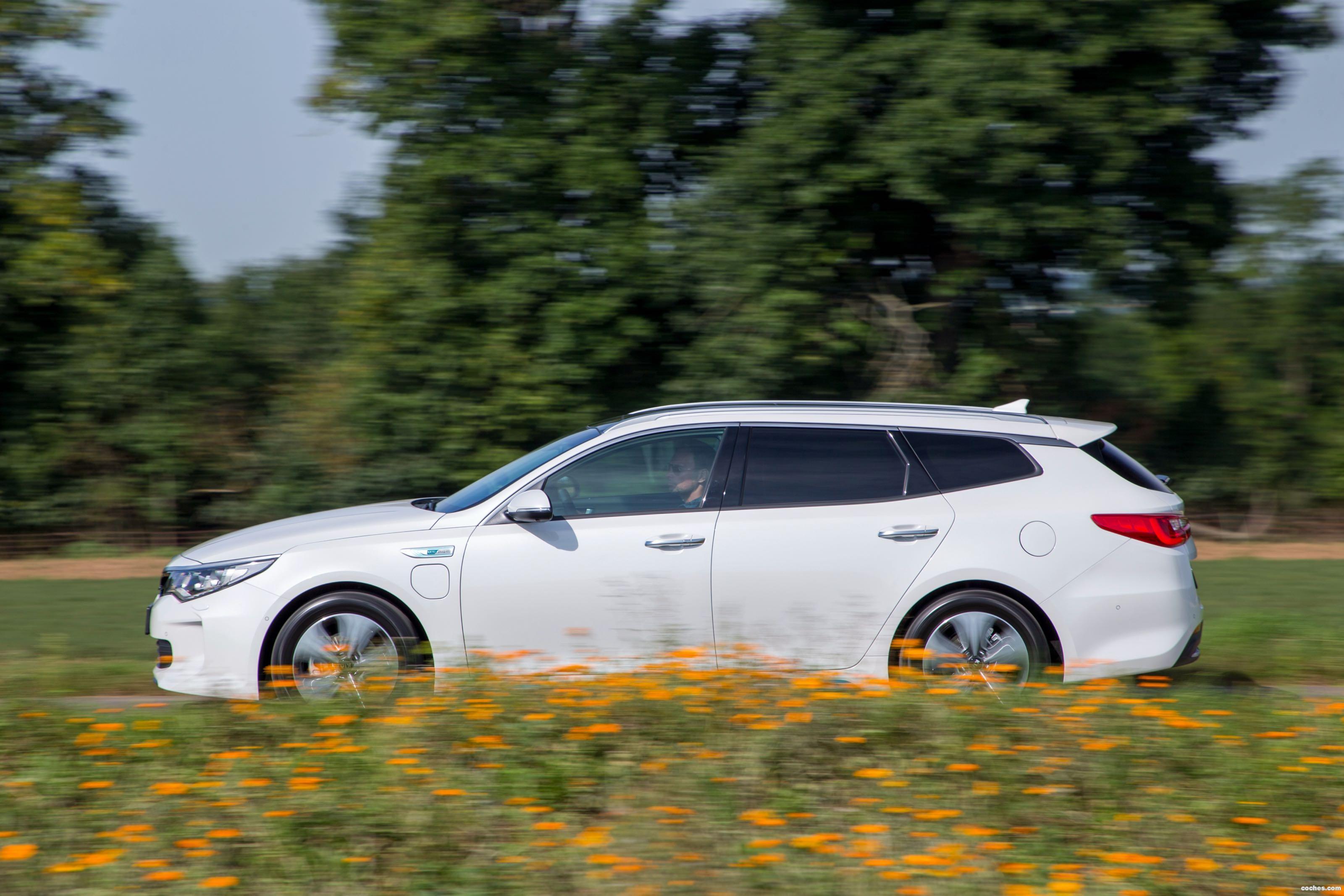 Foto 8 de Kia Optima Sportswagon Plug-In Hybrid 2017