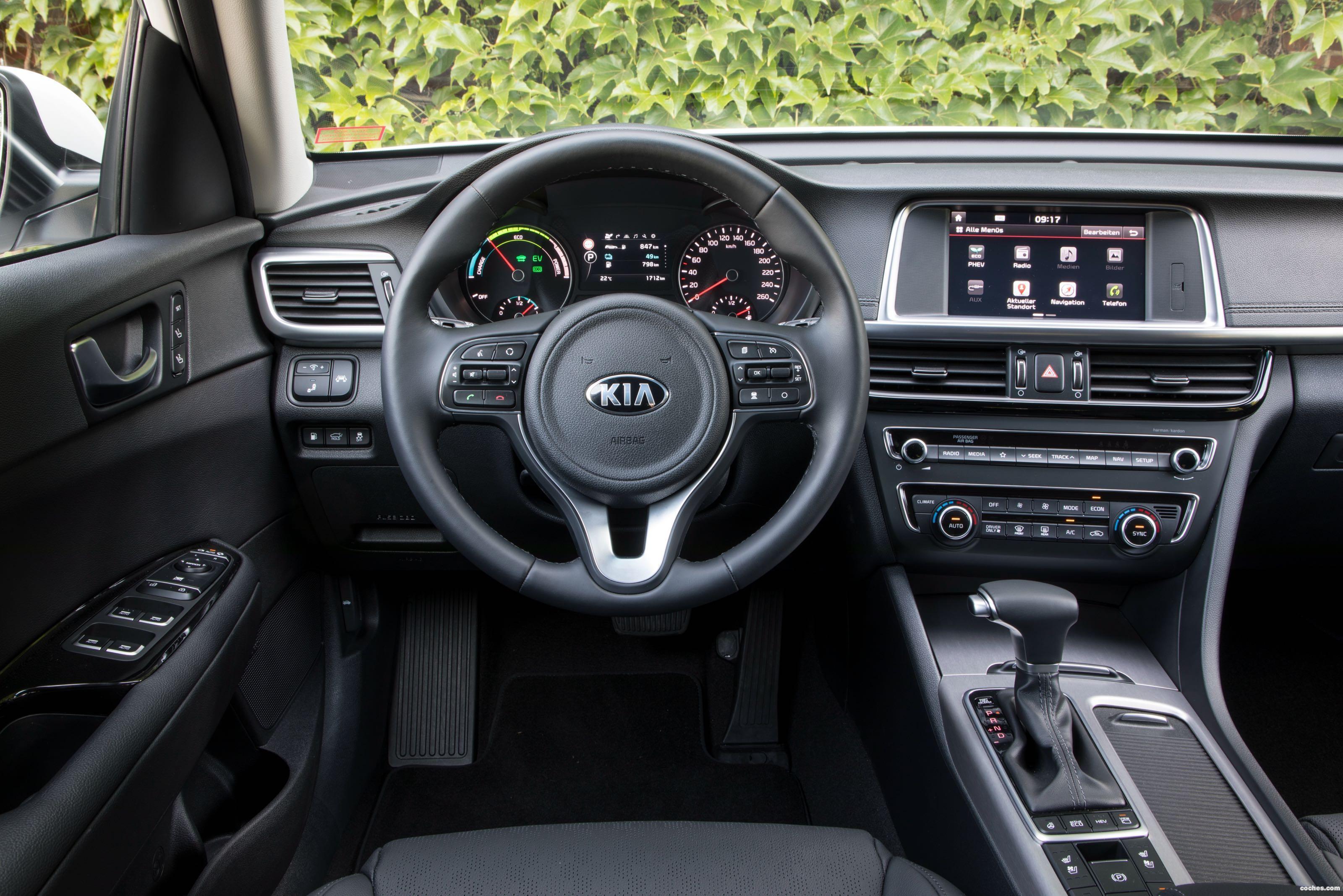 Foto 16 de Kia Optima Sportswagon Plug-In Hybrid 2017