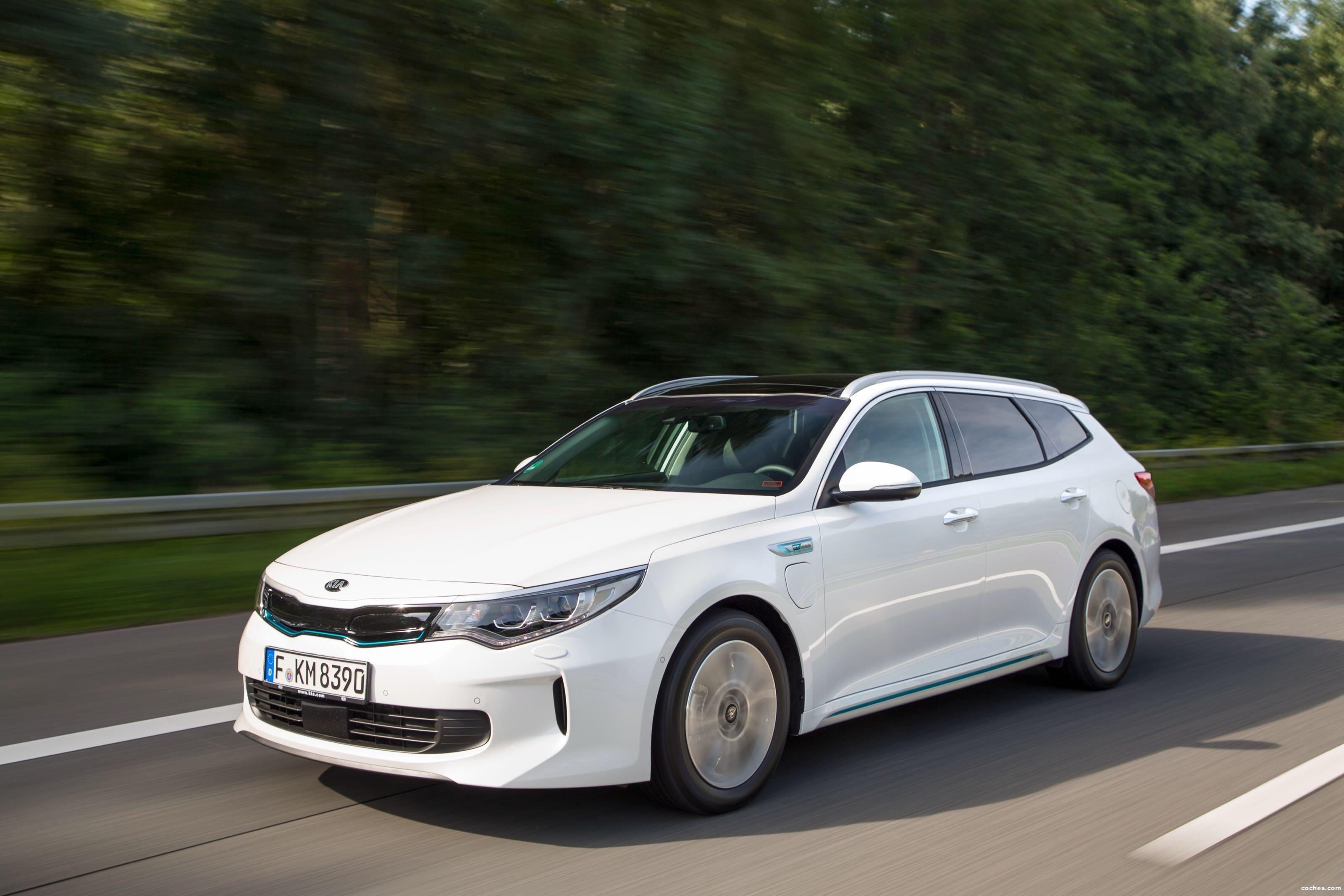 Foto 5 de Kia Optima Sportswagon Plug-In Hybrid 2017