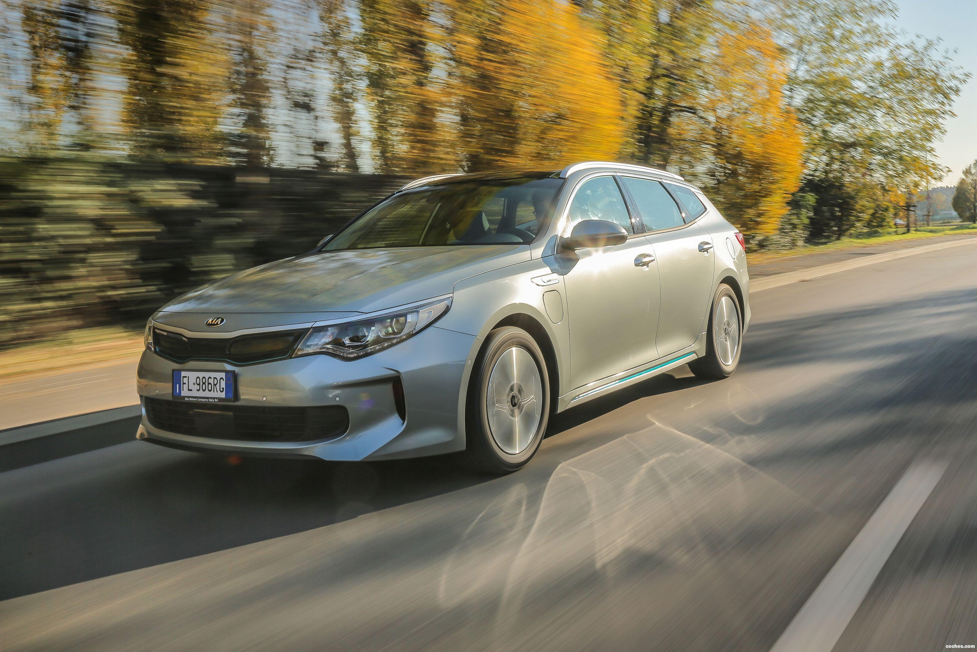 Foto 36 de Kia Optima Sportswagon Plug-In Hybrid 2017