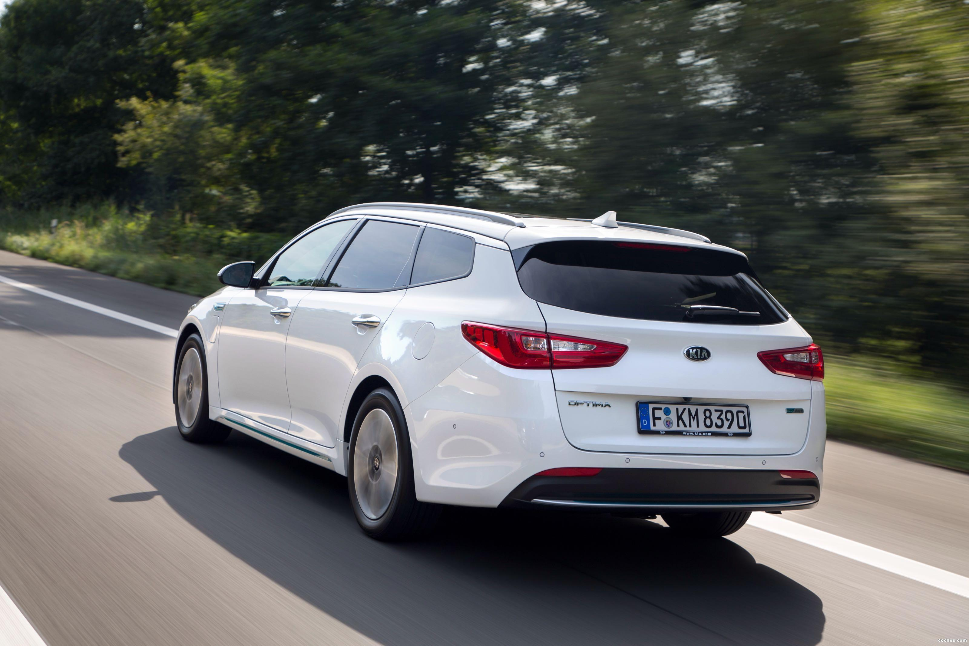 Foto 14 de Kia Optima Sportswagon Plug-In Hybrid 2017