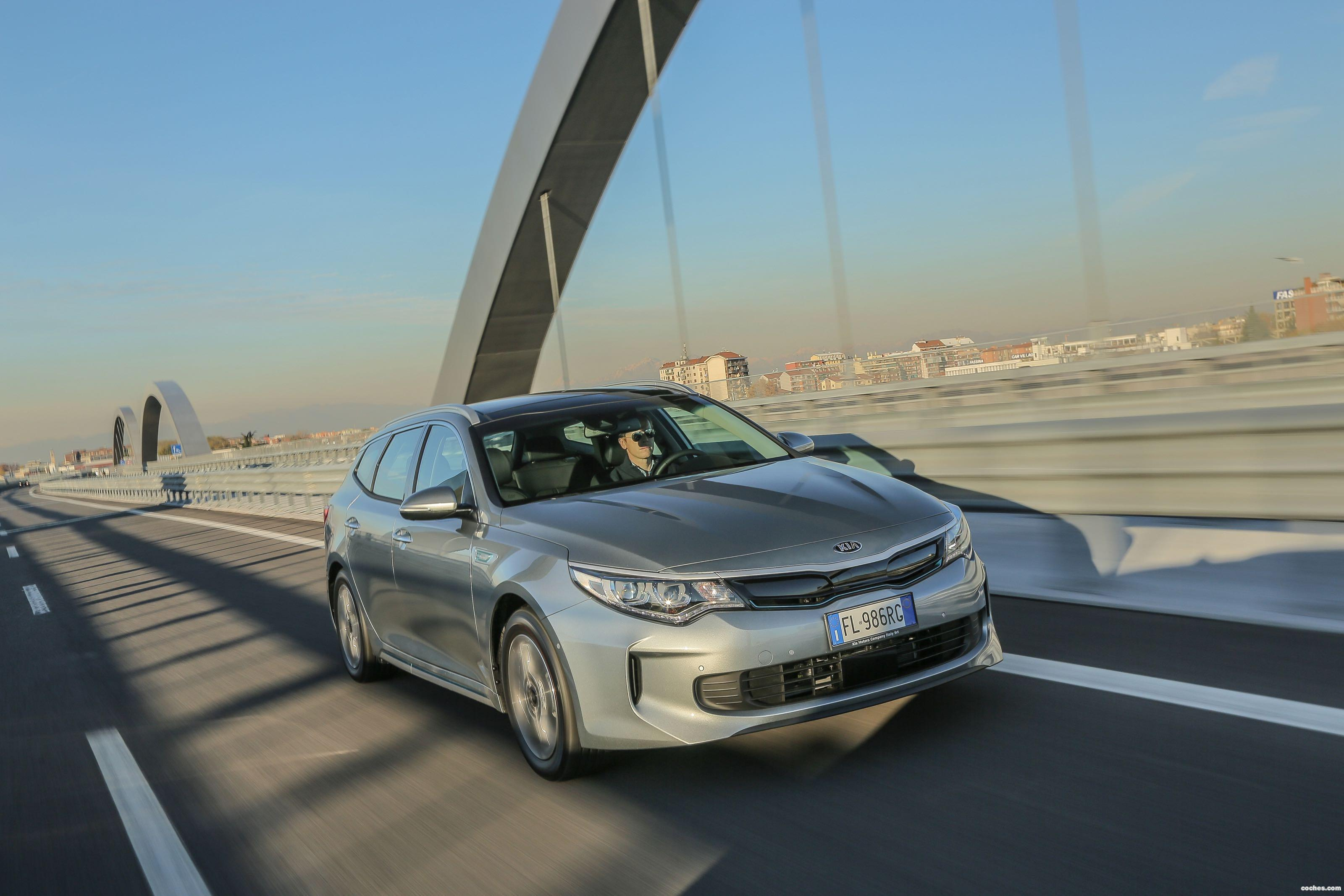 Foto 34 de Kia Optima Sportswagon Plug-In Hybrid 2017