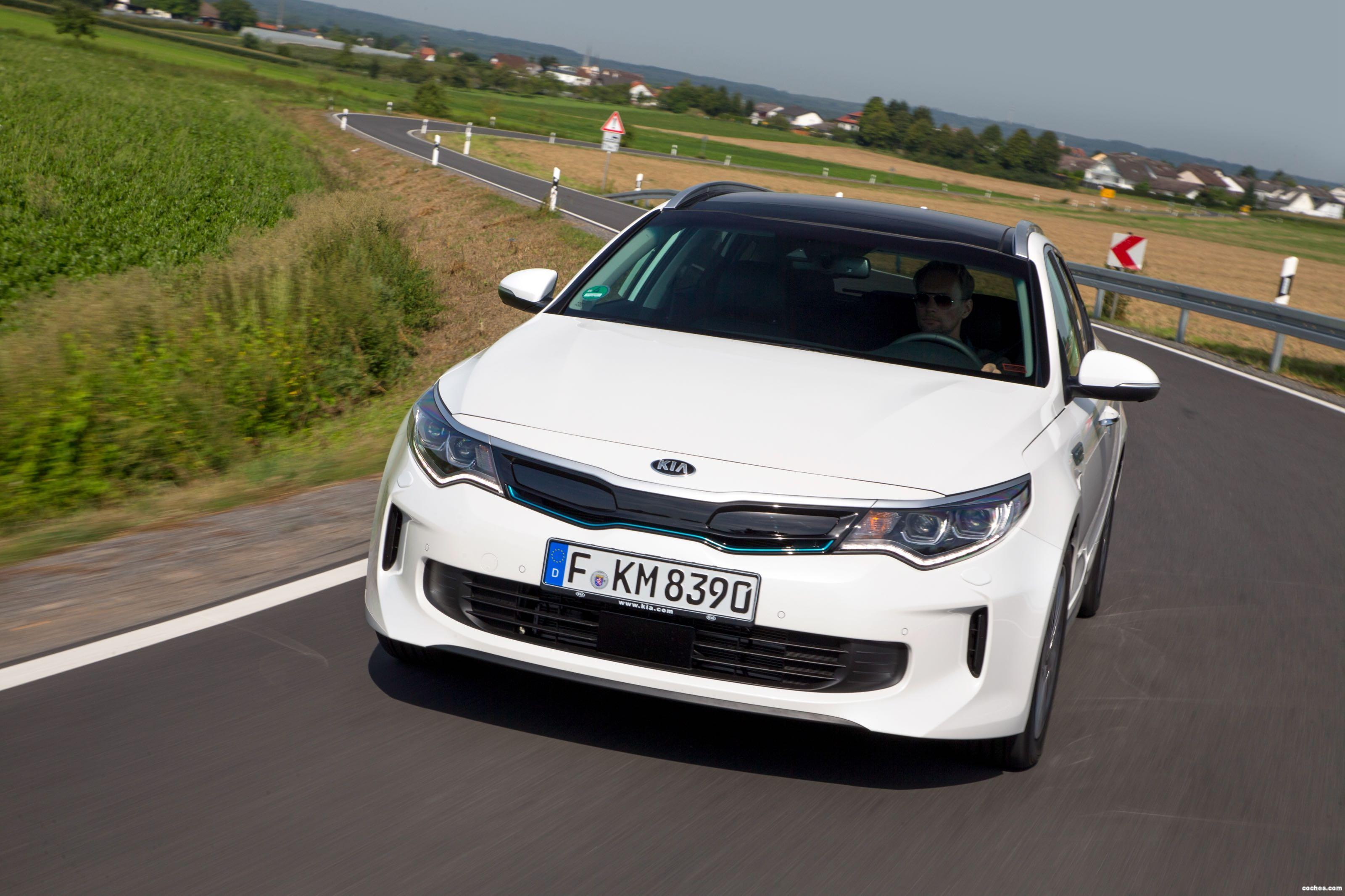 Foto 40 de Kia Optima Sportswagon Plug-In Hybrid 2017