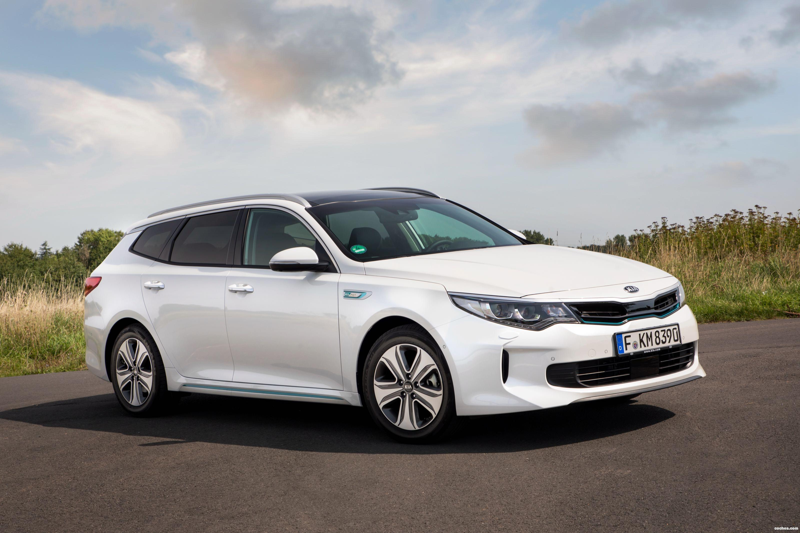 Foto 6 de Kia Optima Sportswagon Plug-In Hybrid 2017