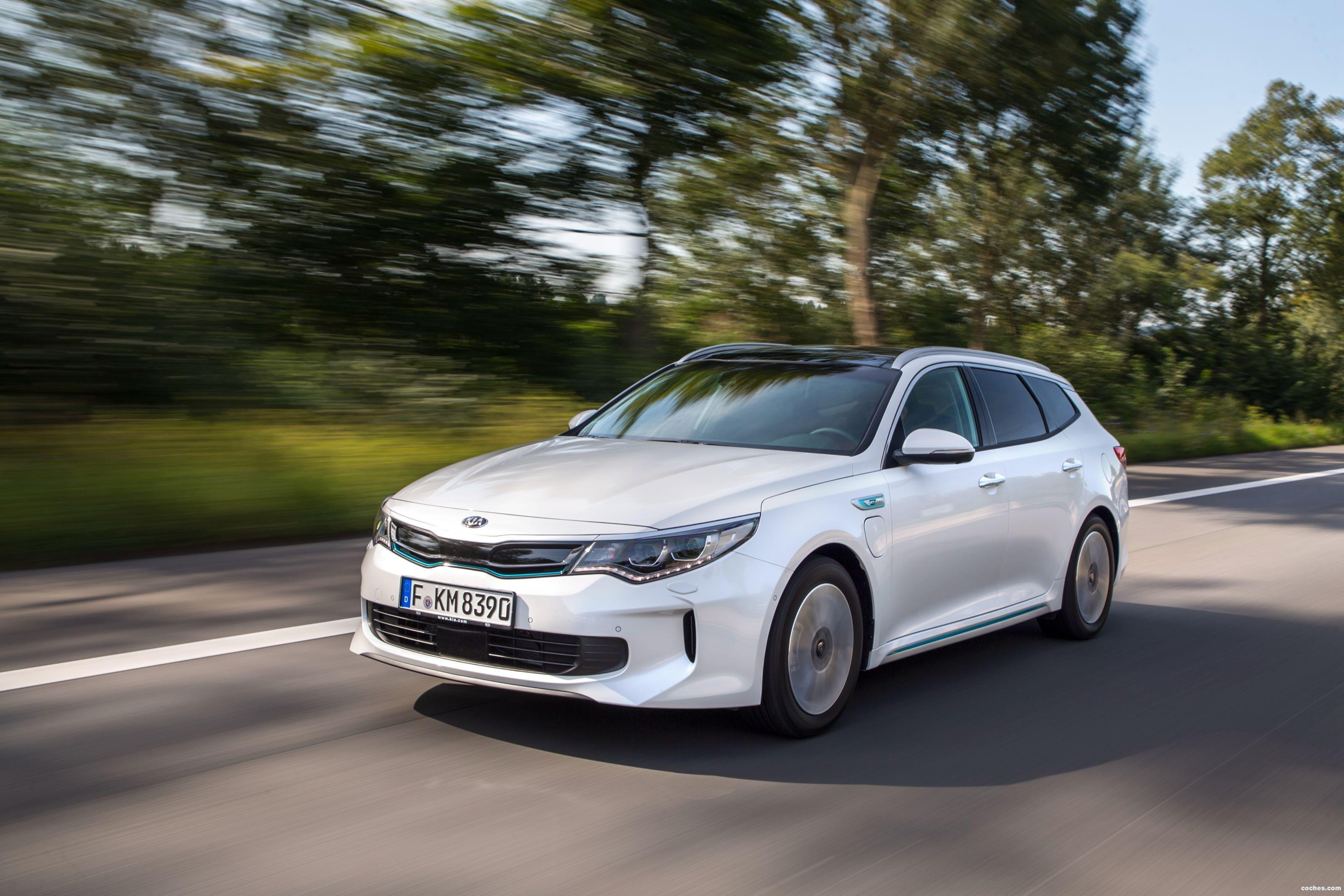 Foto 4 de Kia Optima Sportswagon Plug-In Hybrid 2017