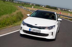 Ver foto 2 de Kia Optima Sportswagon Plug-In Hybrid 2017