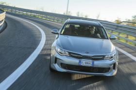 Ver foto 1 de Kia Optima Sportswagon Plug-In Hybrid 2017