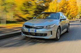 Ver foto 3 de Kia Optima Sportswagon Plug-In Hybrid 2017