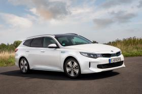 Ver foto 7 de Kia Optima Sportswagon Plug-In Hybrid 2017
