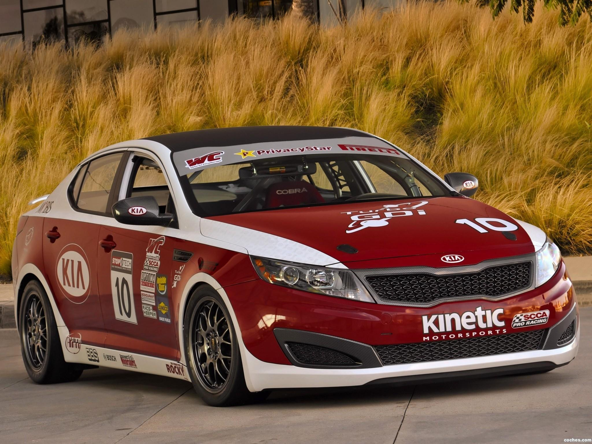 Foto 0 de Kia Optima SX World Challenge GTS Race Car 2011
