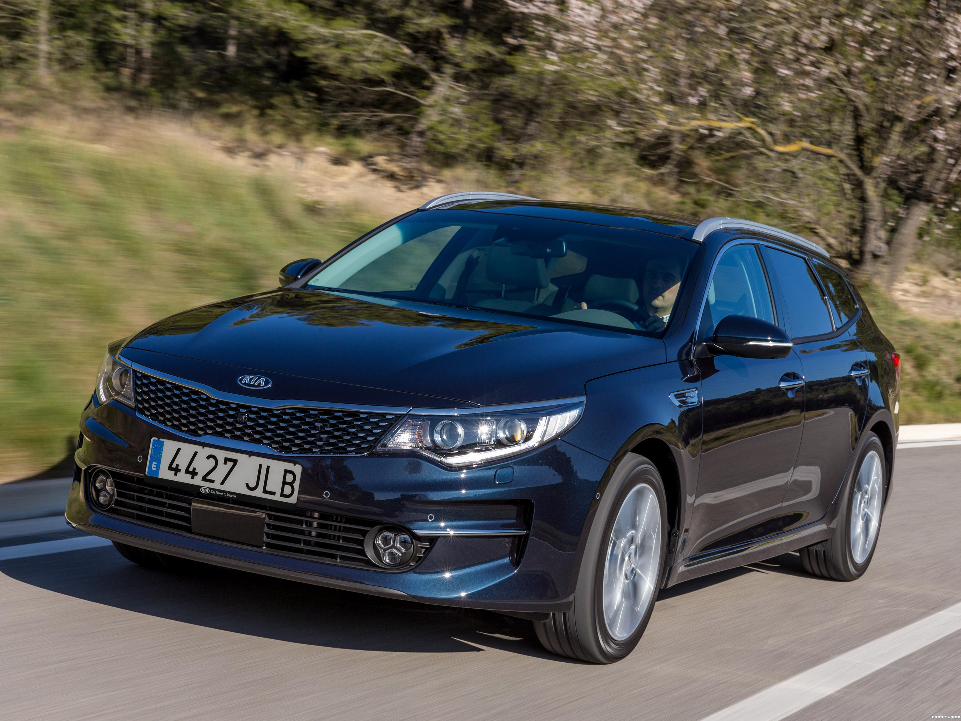 Foto 0 de Kia Optima Sportswagon 2016