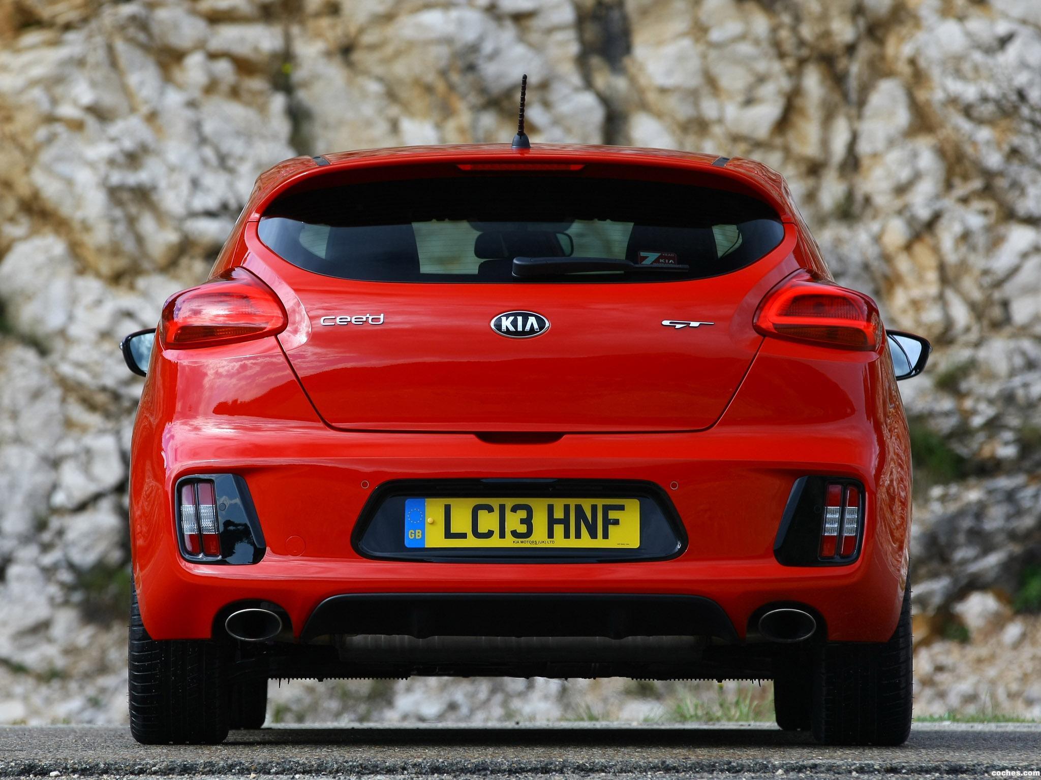 Foto 12 de Kia Pro_Ceed GT UK 2013