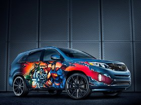 Fotos de Kia Sorento Justice League 2013