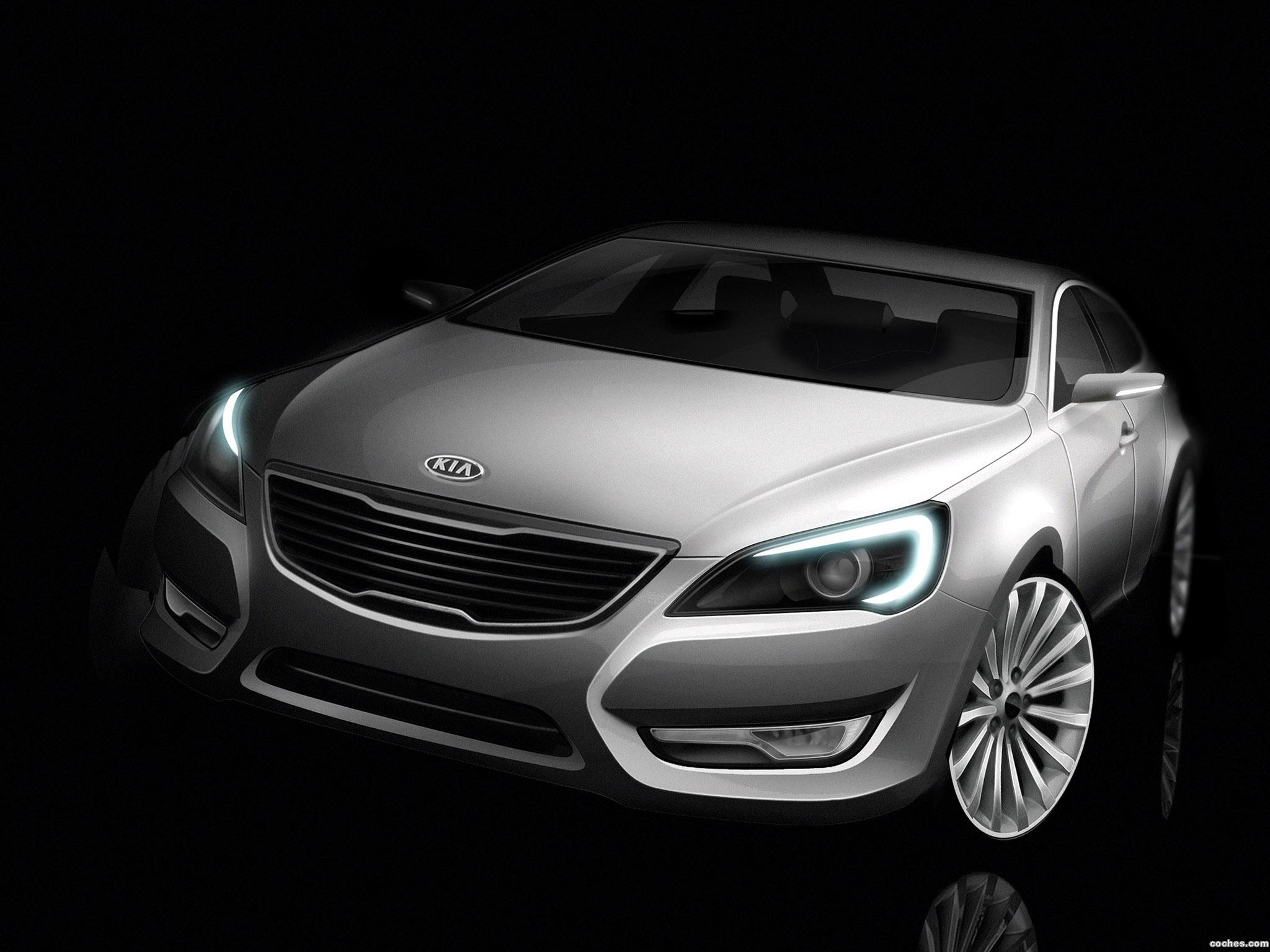 Foto 0 de Kia VG Concept 2009