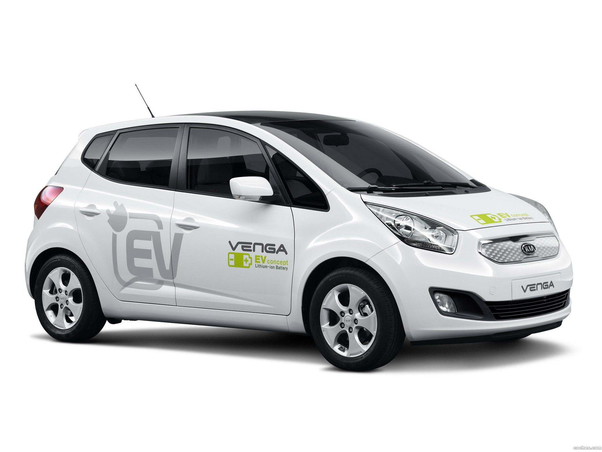 Foto 0 de Kia Venga Plug-In Electric Concept 2010