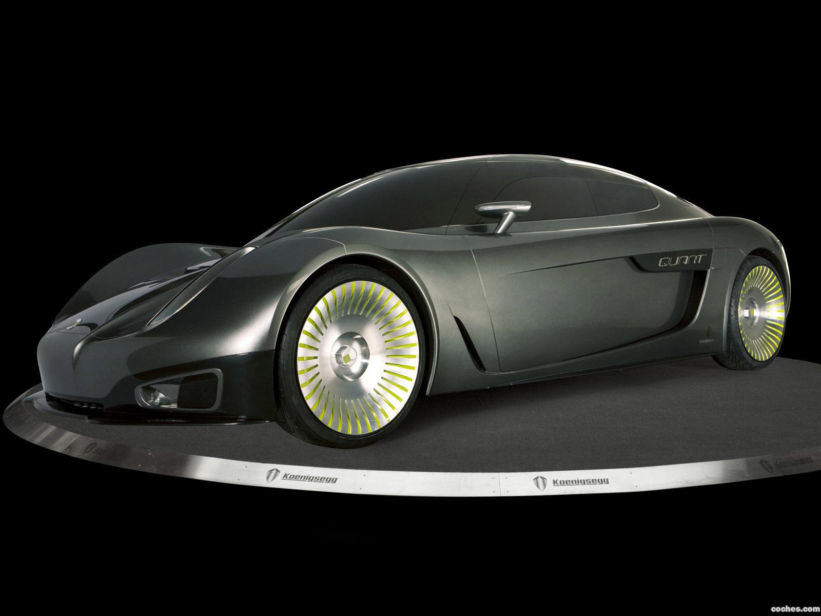 Foto 0 de Koenigsegg Quant Concept 2009