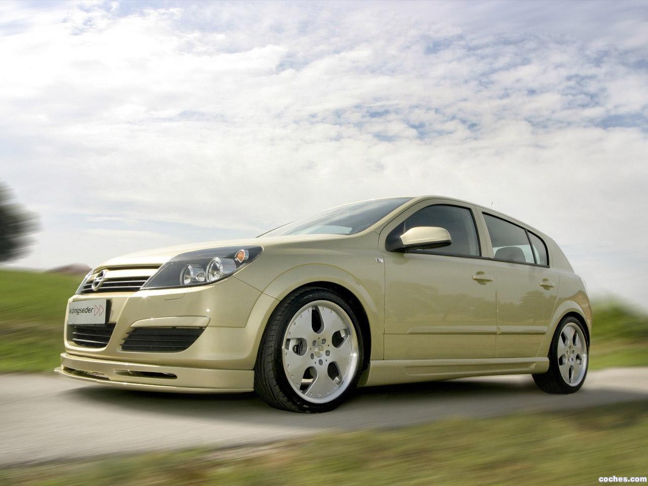 Foto 0 de Konigseder Opel Astra H 2010