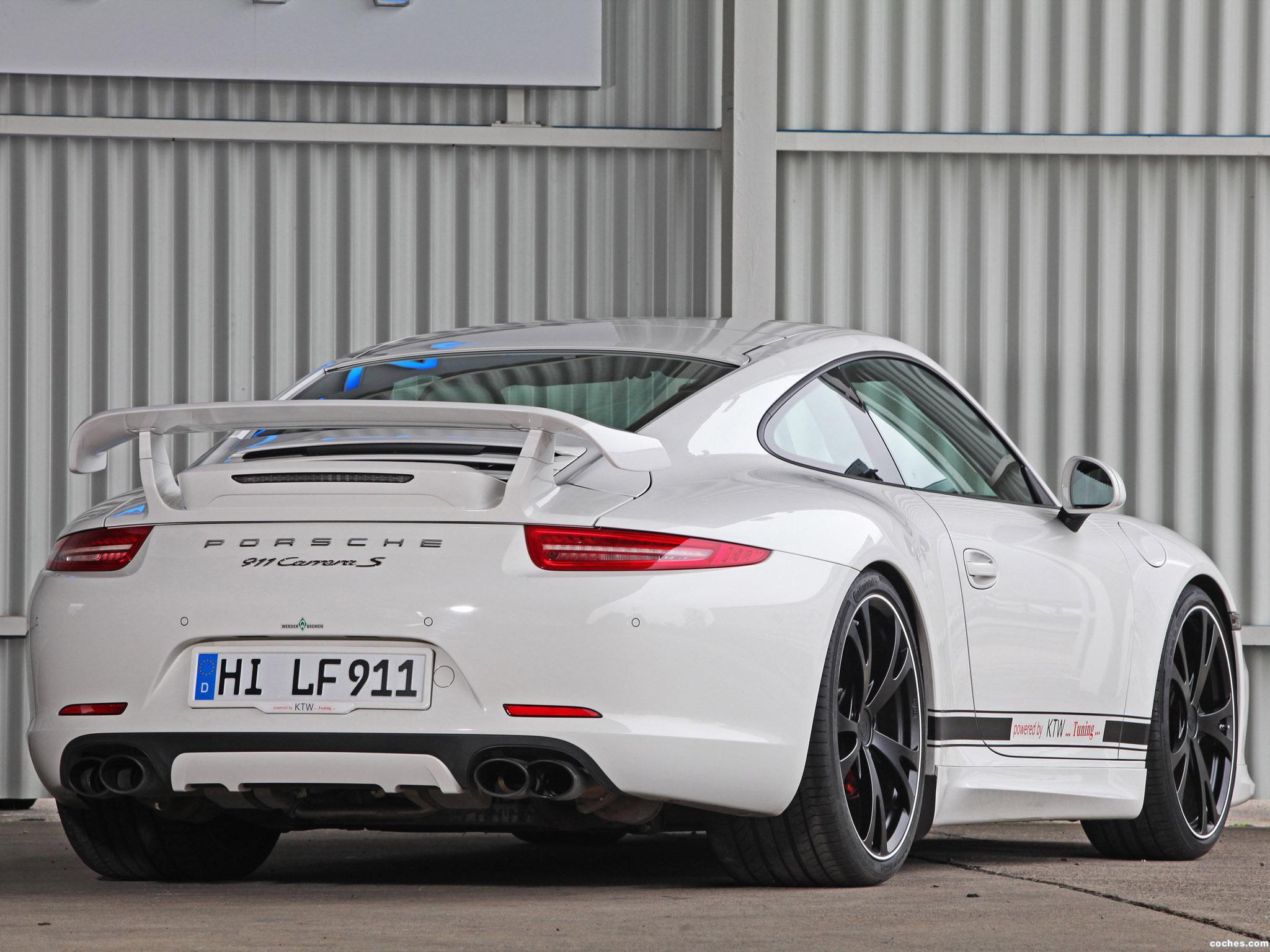 Foto 3 de KTW Porsche Carrera S 991 2013