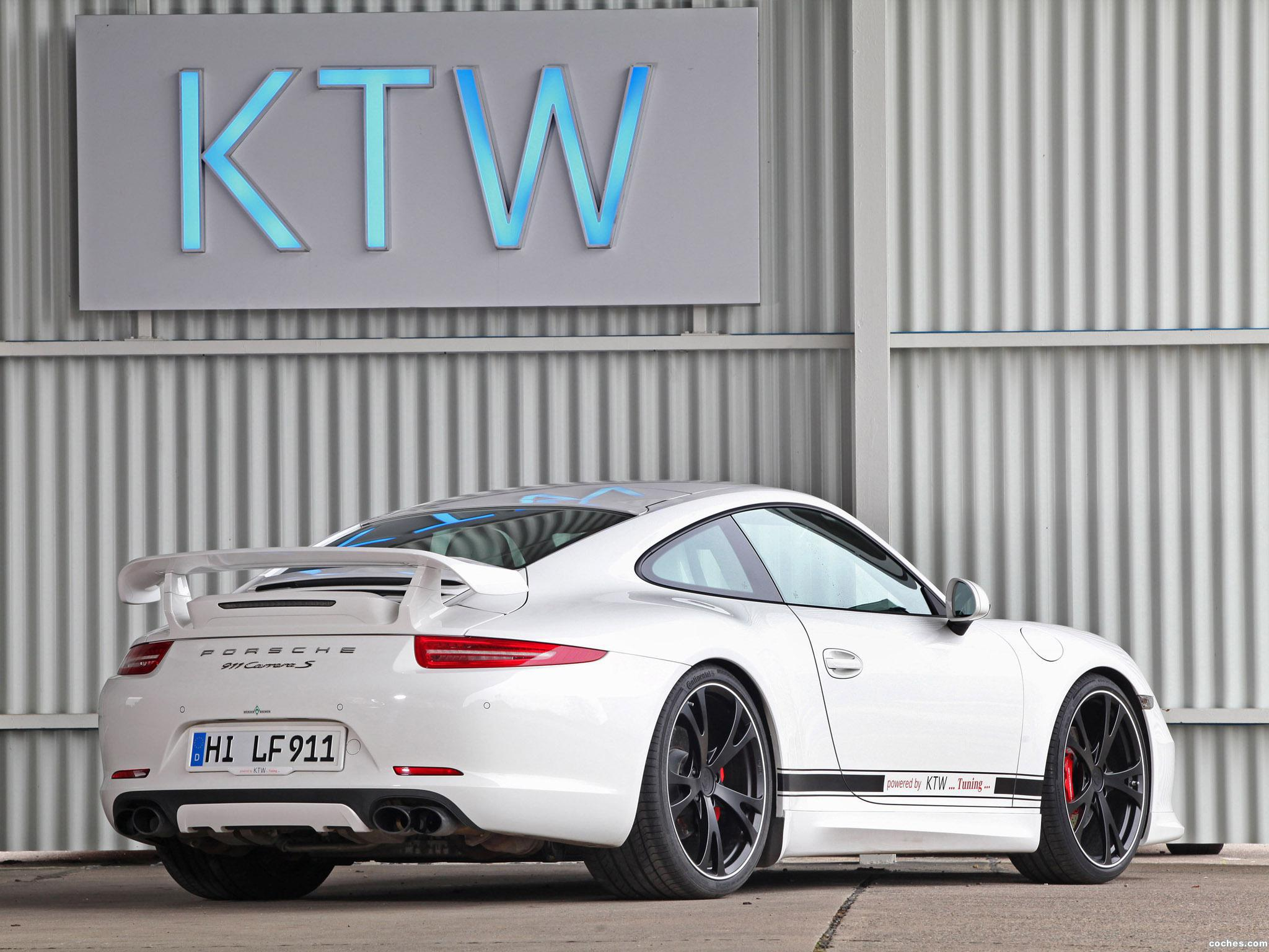 Foto 4 de KTW Porsche Carrera S 991 2013