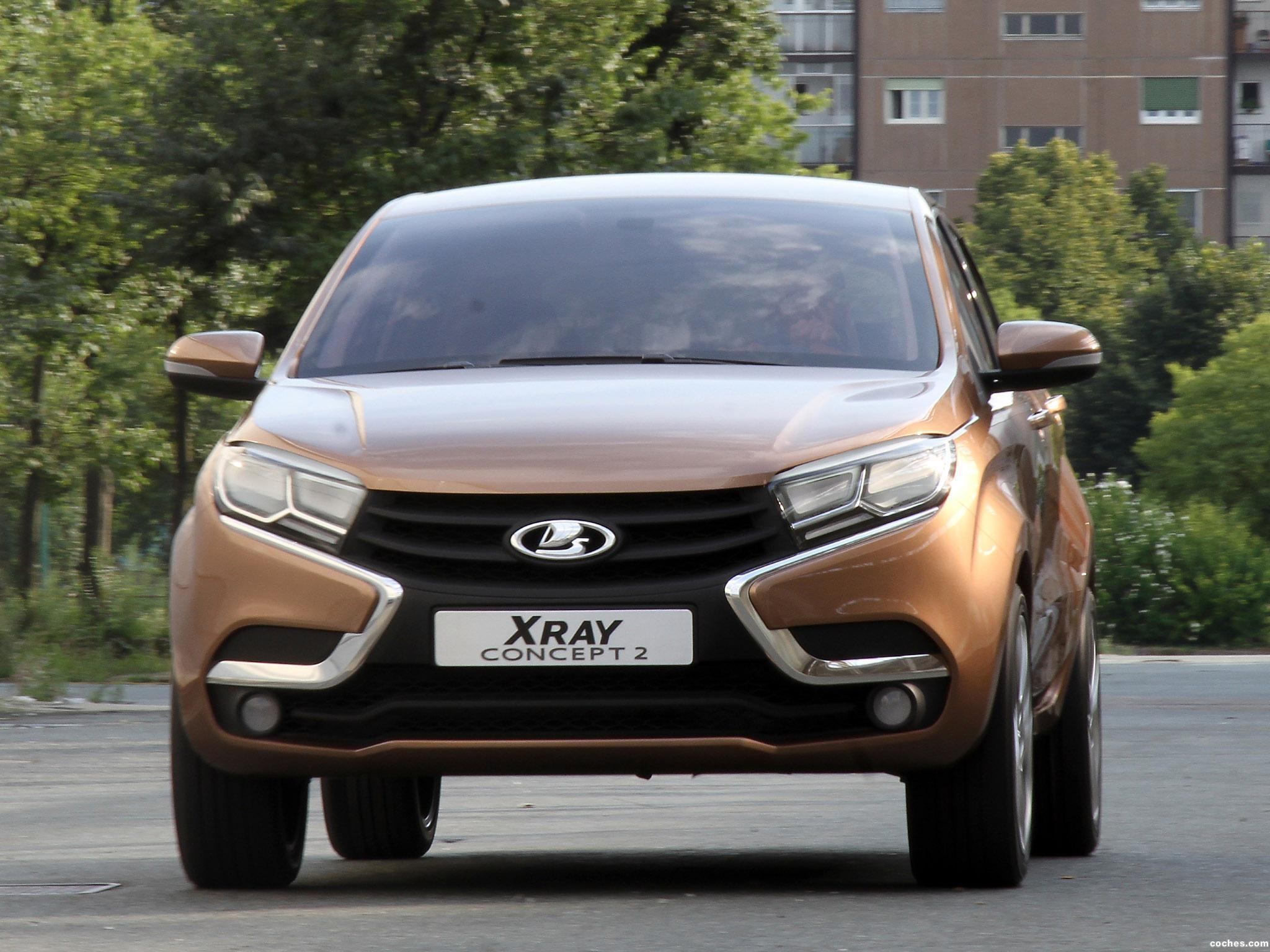 Foto 0 de Lada XRAY Concept 2 2014