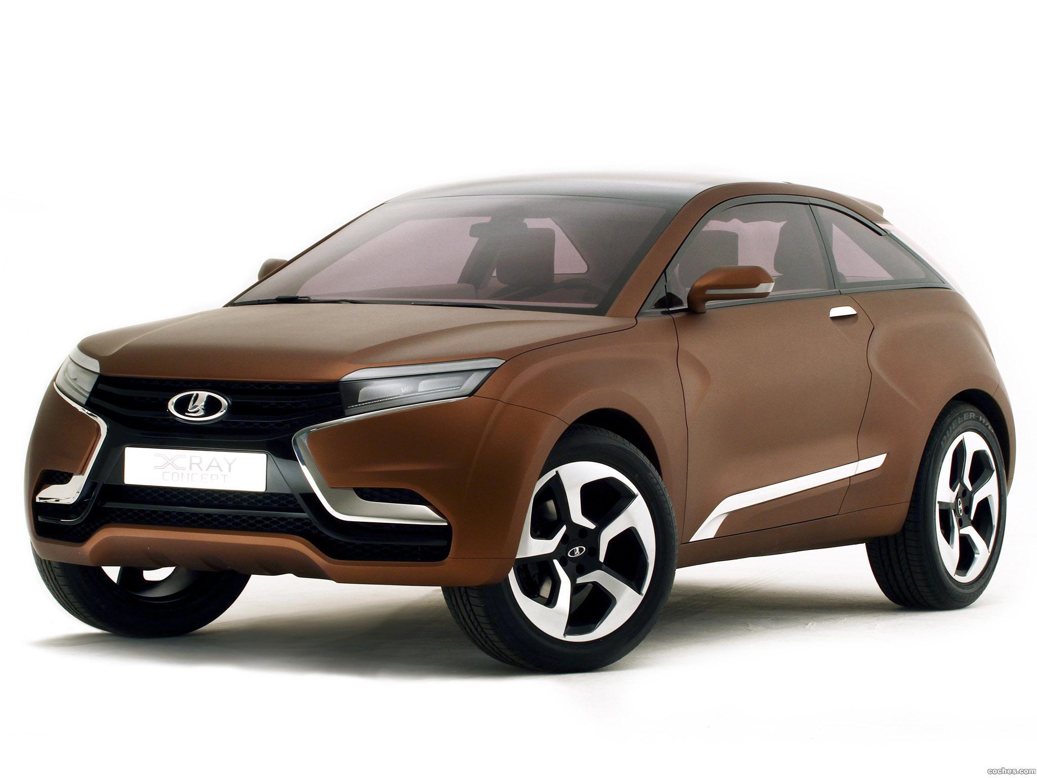 Foto 12 de Lada XRAY Concept 2012