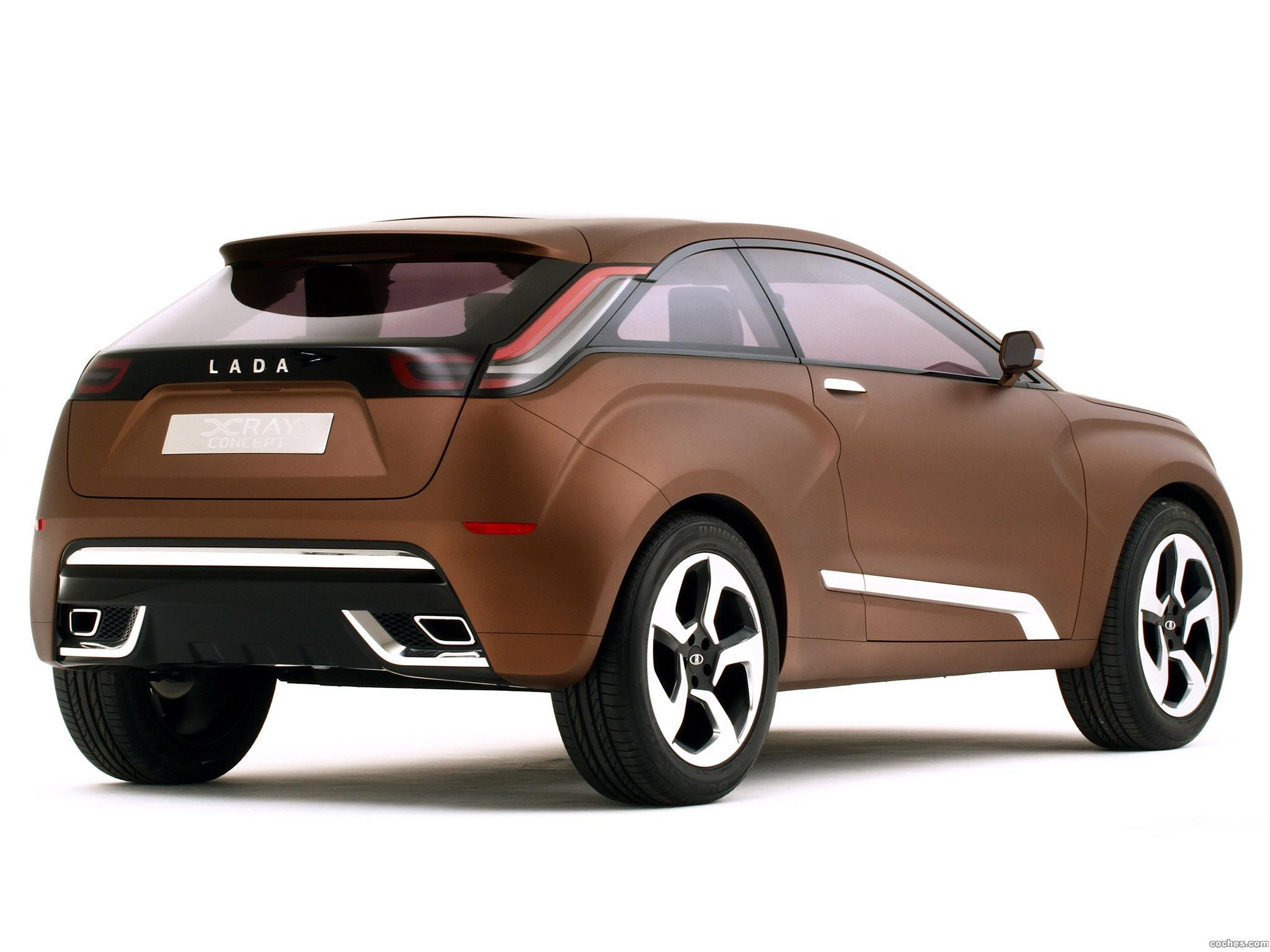 Foto 11 de Lada XRAY Concept 2012