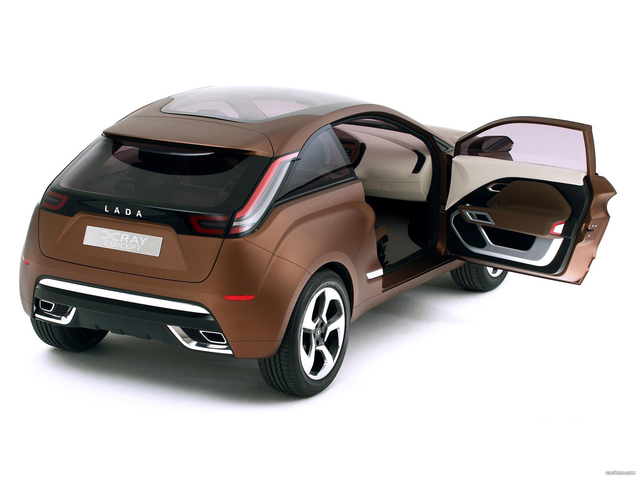 Foto 10 de Lada XRAY Concept 2012