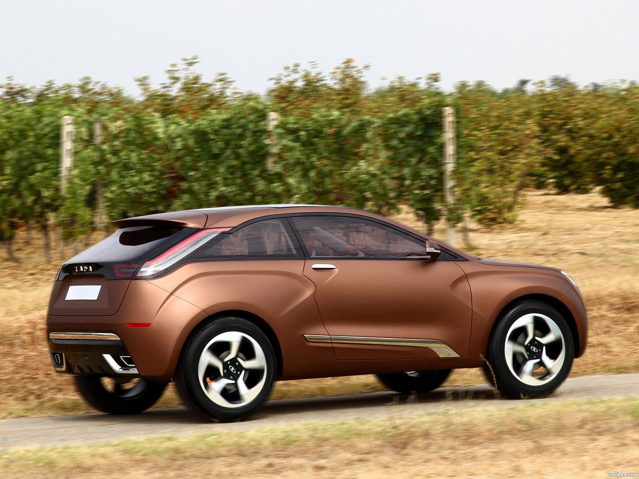 Foto 4 de Lada XRAY Concept 2012