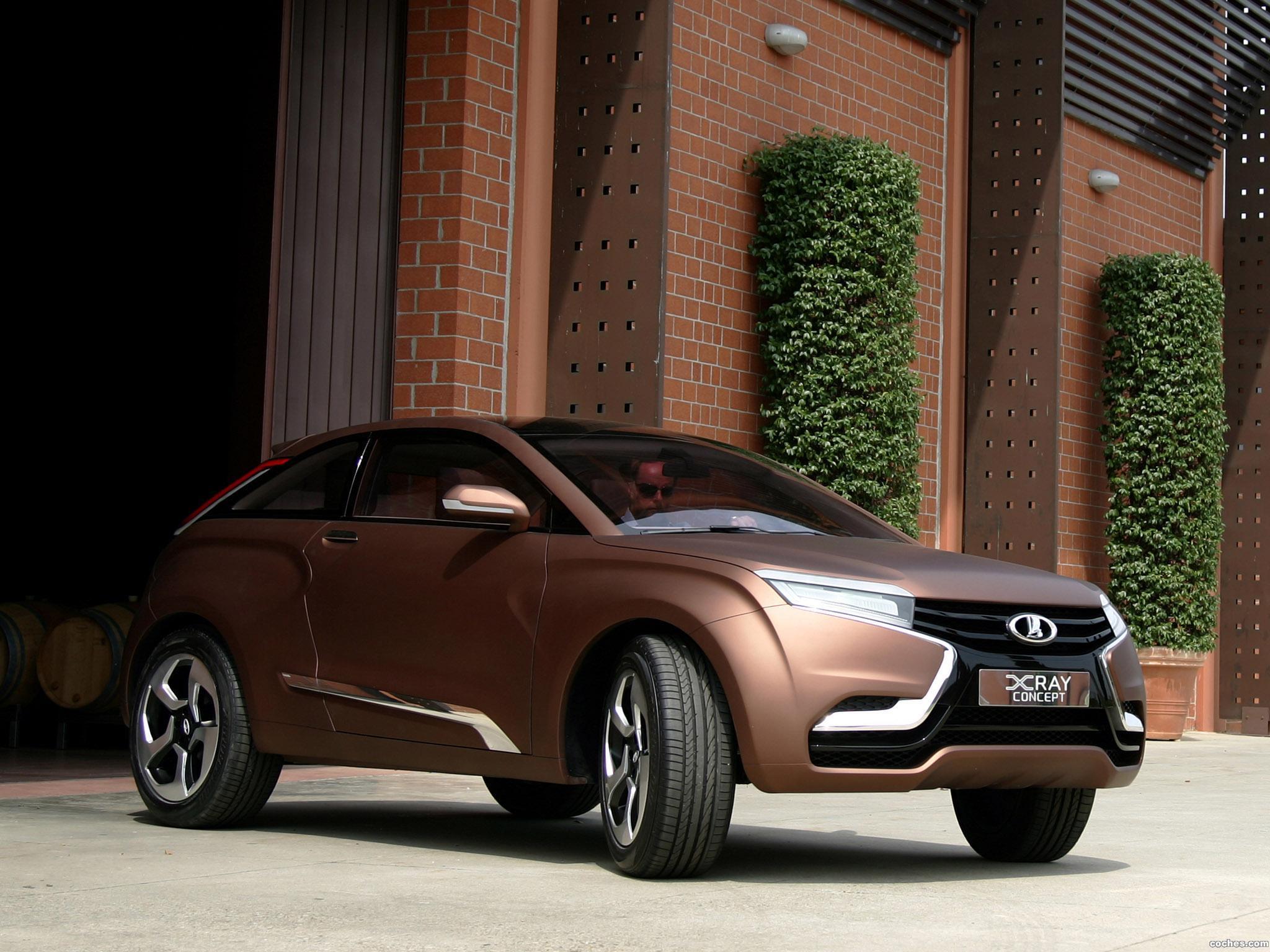 Foto 1 de Lada XRAY Concept 2012