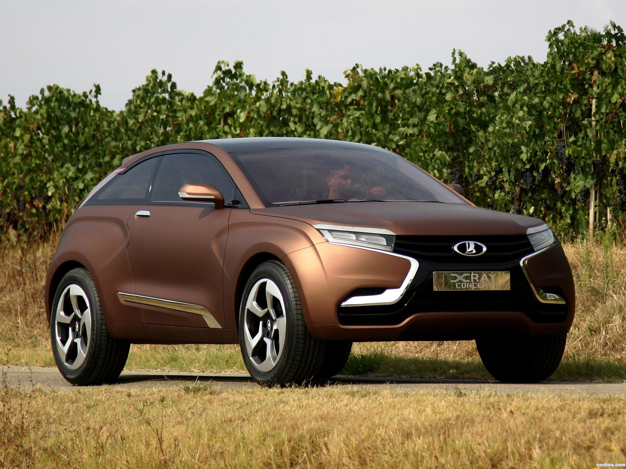 Foto 0 de Lada XRAY Concept 2012