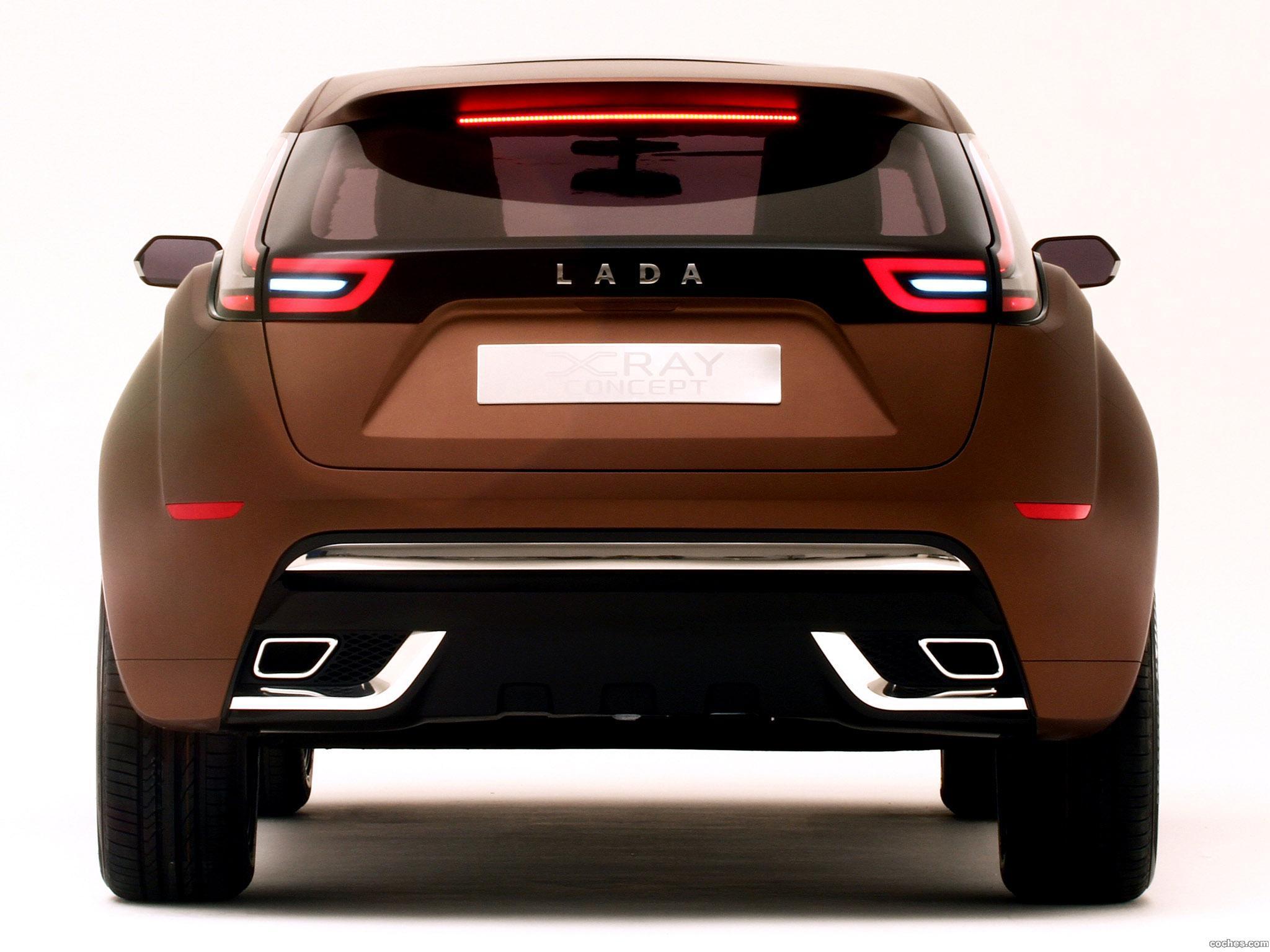 Foto 15 de Lada XRAY Concept 2012