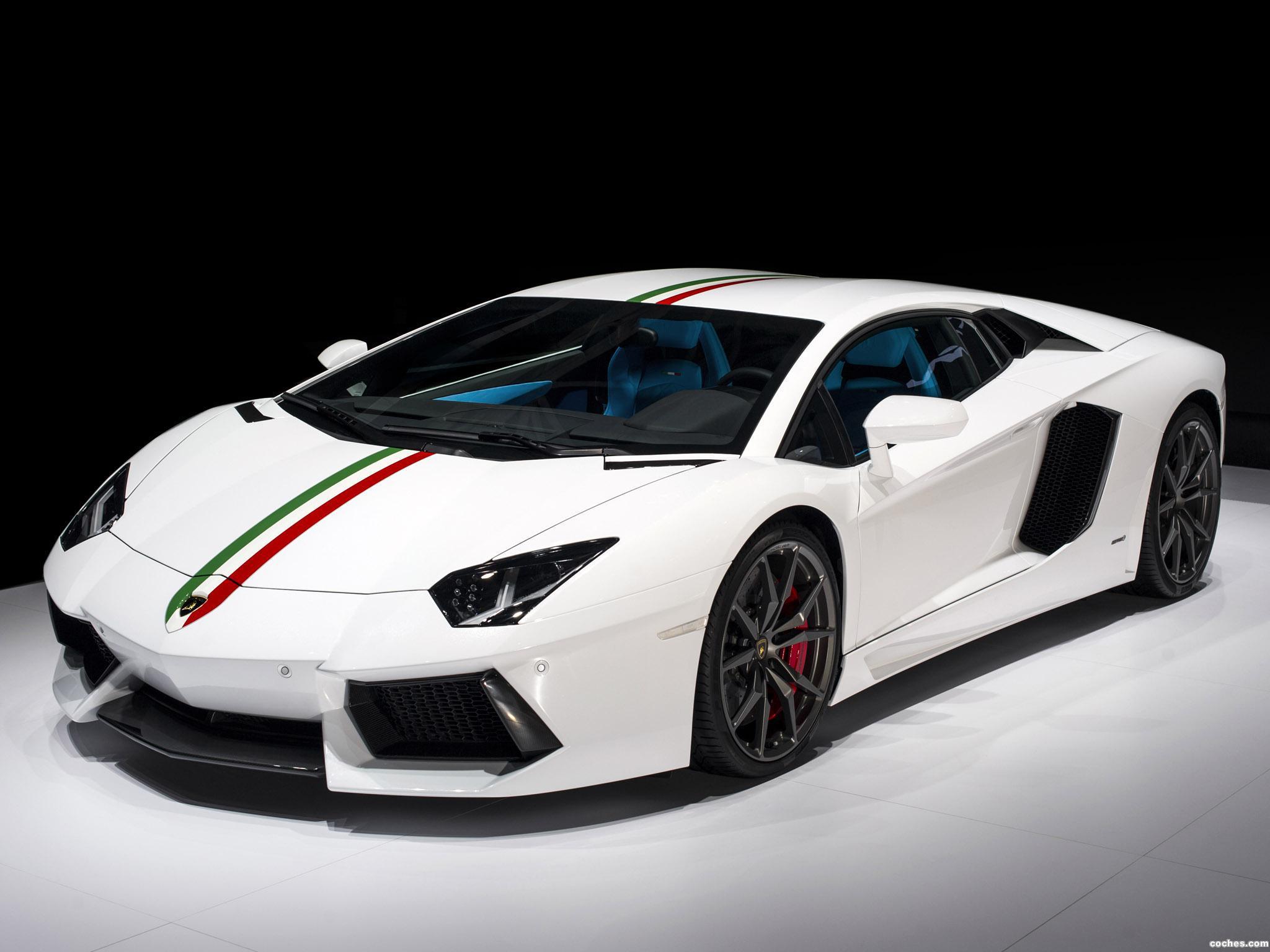 Foto 0 de Lamborghini Aventador LP700-4 Nazionale 2014