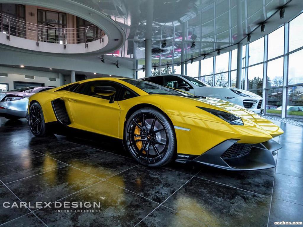 Foto 0 de Lamborghini Aventador LP720-4 Anniversario Carlex Design 2014