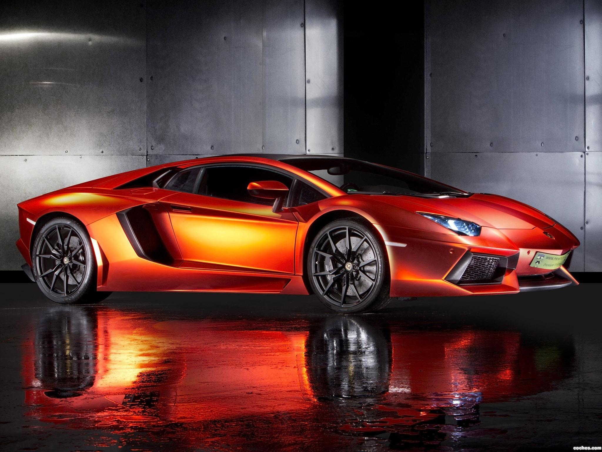 Foto 0 de Lamborghini Aventador Print Tech 2013