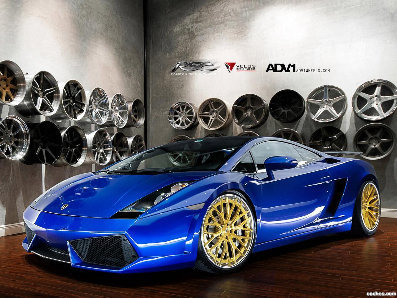 Foto 0 de Lamborghini Gallardo ADV.1 Wheels 2012