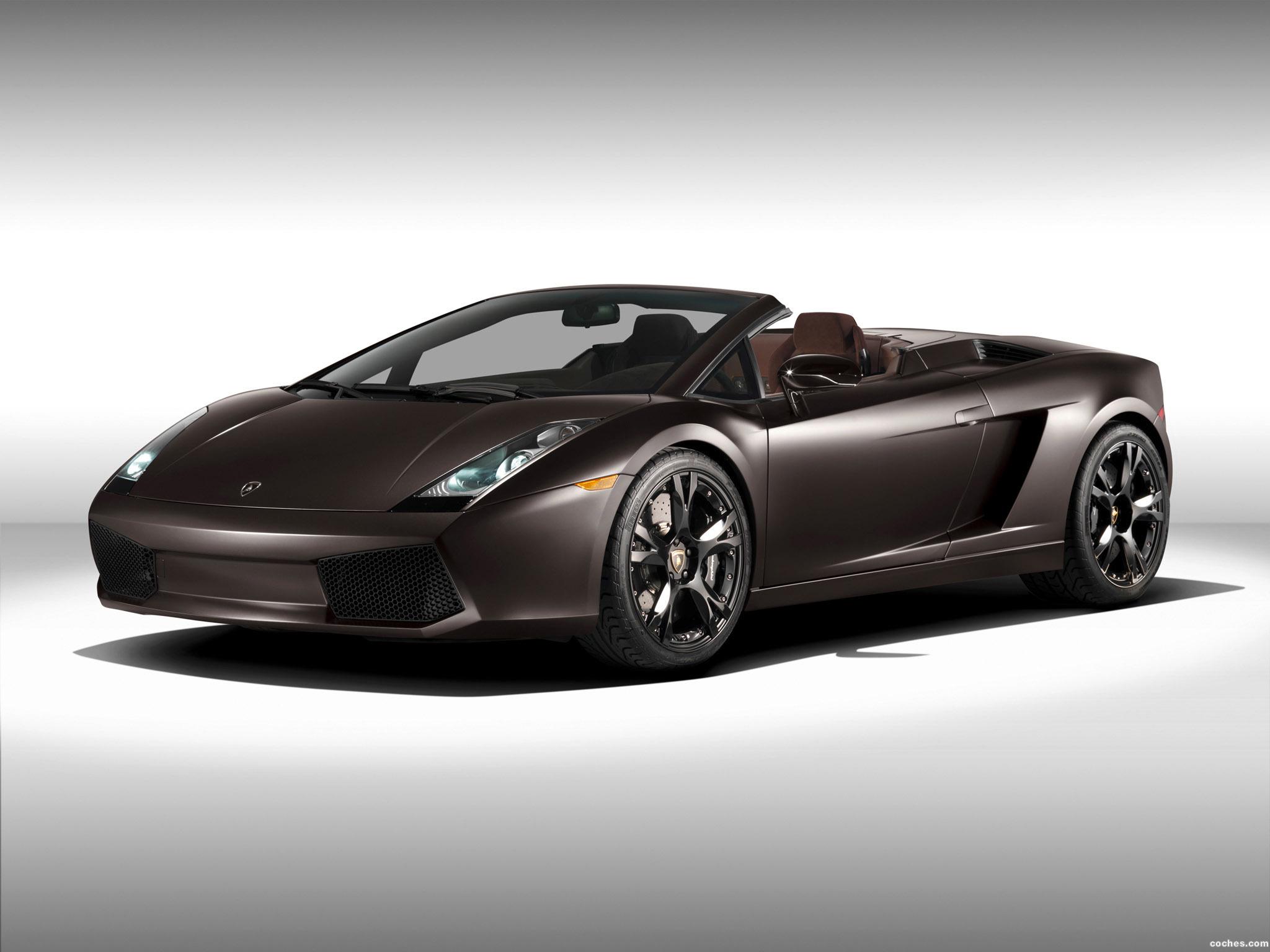Foto 0 de Lamborghini Gallardo Spyder AD Personam 2008