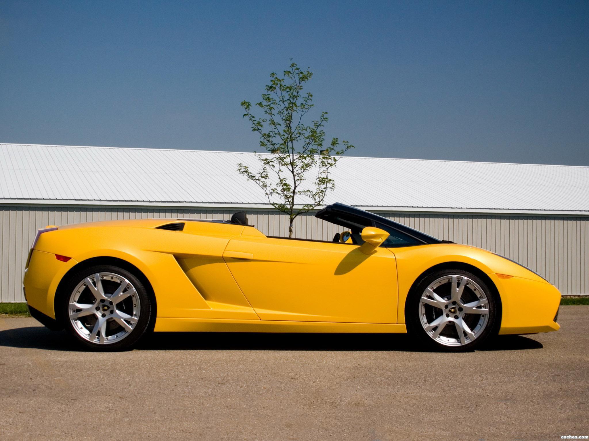 Foto 4 de Lamborghini Gallardo Spyder USA 2006
