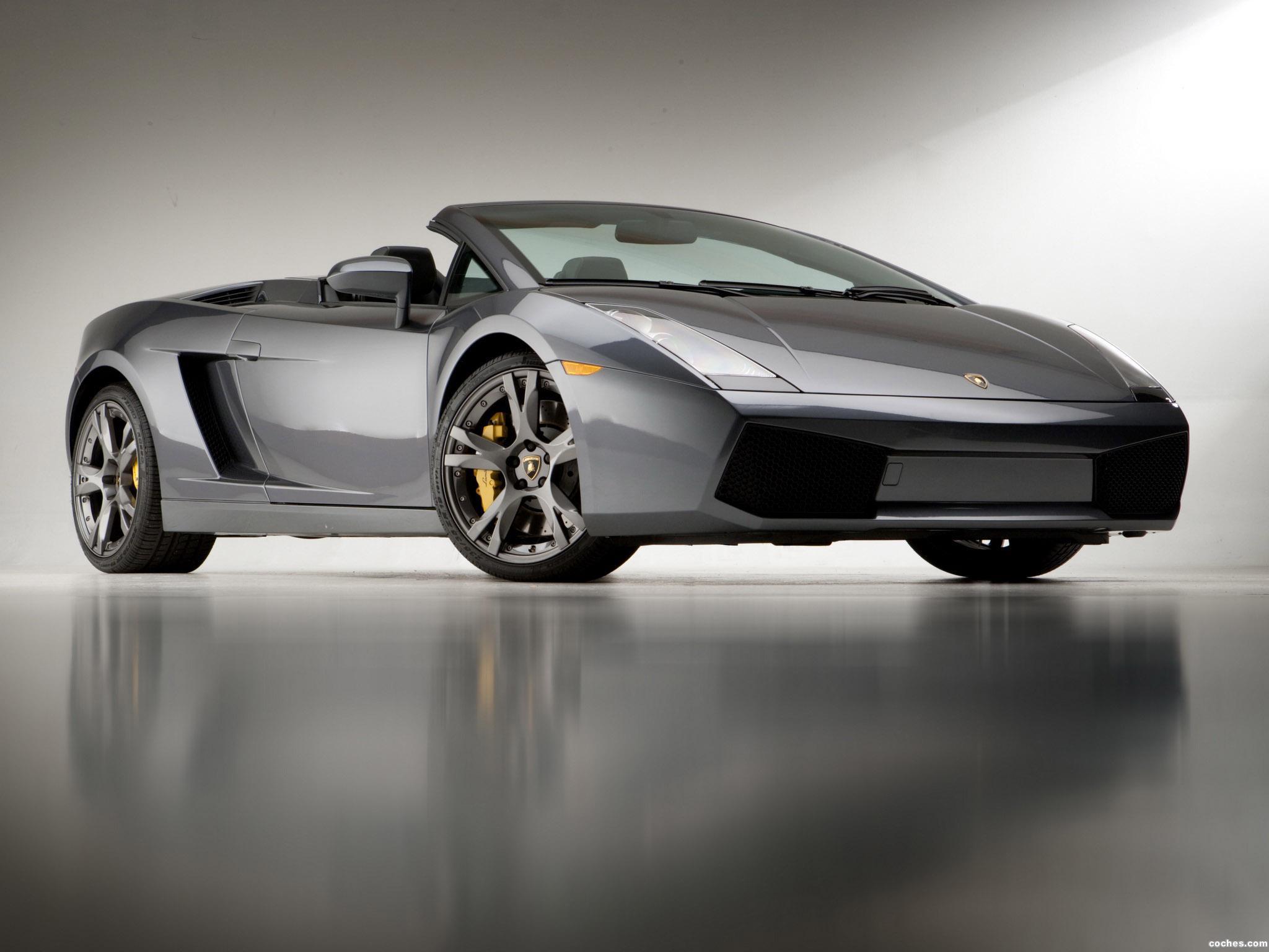 Foto 11 de Lamborghini Gallardo Spyder USA 2006