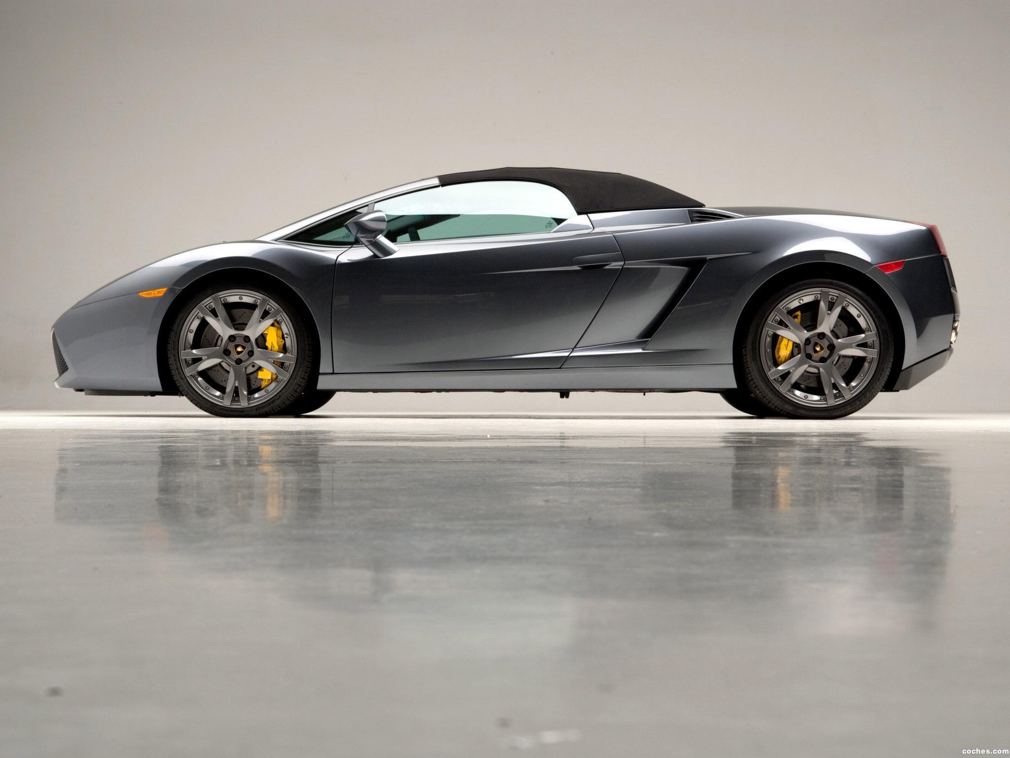 Foto 9 de Lamborghini Gallardo Spyder USA 2006