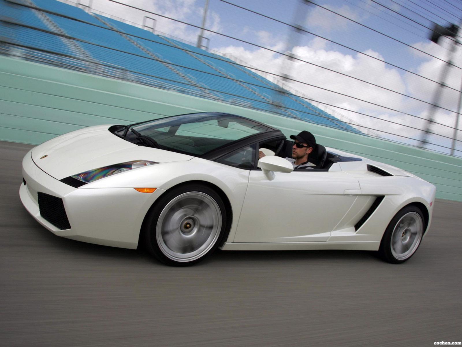 Foto 8 de Lamborghini Gallardo Spyder USA 2006