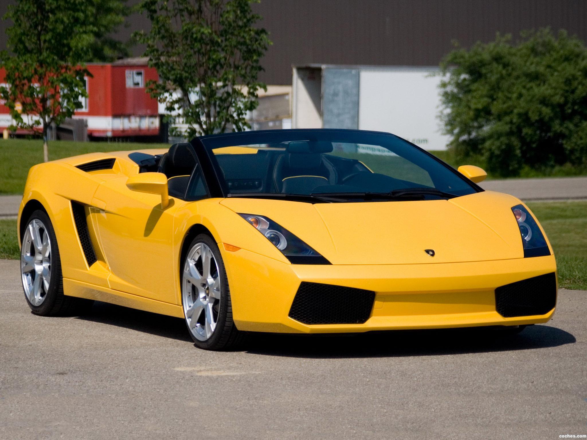 Foto 7 de Lamborghini Gallardo Spyder USA 2006