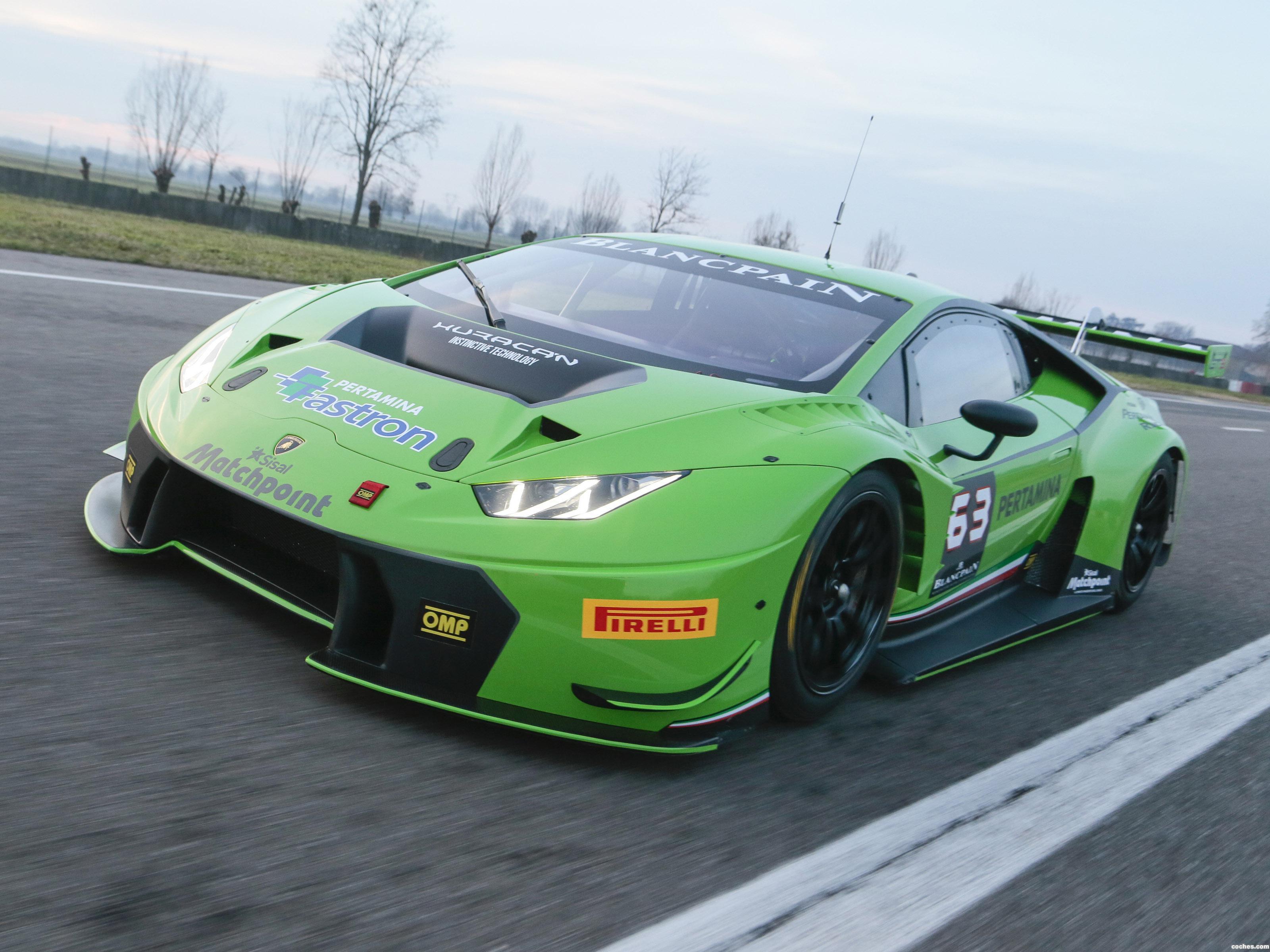 Foto 0 de Lamborghini Huracan GT3 2015