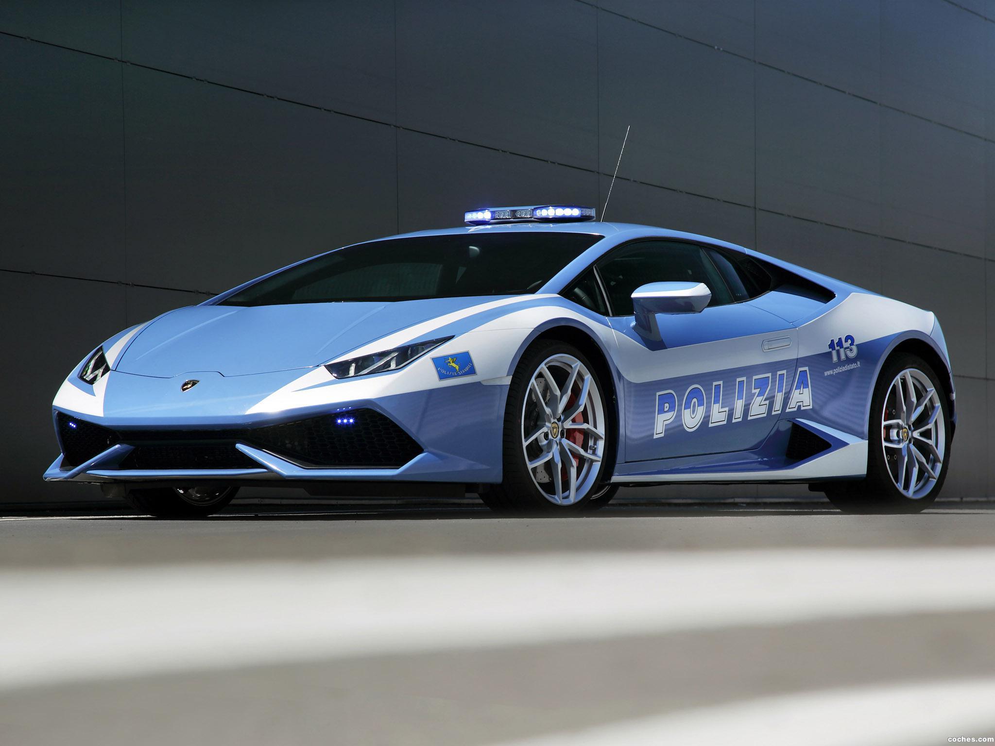 Foto 0 de Lamborghini Huracan LP610-4 Polizia LB724 2014