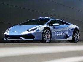 Fotos de Lamborghini Huracan LP610-4 Polizia LB724 2014